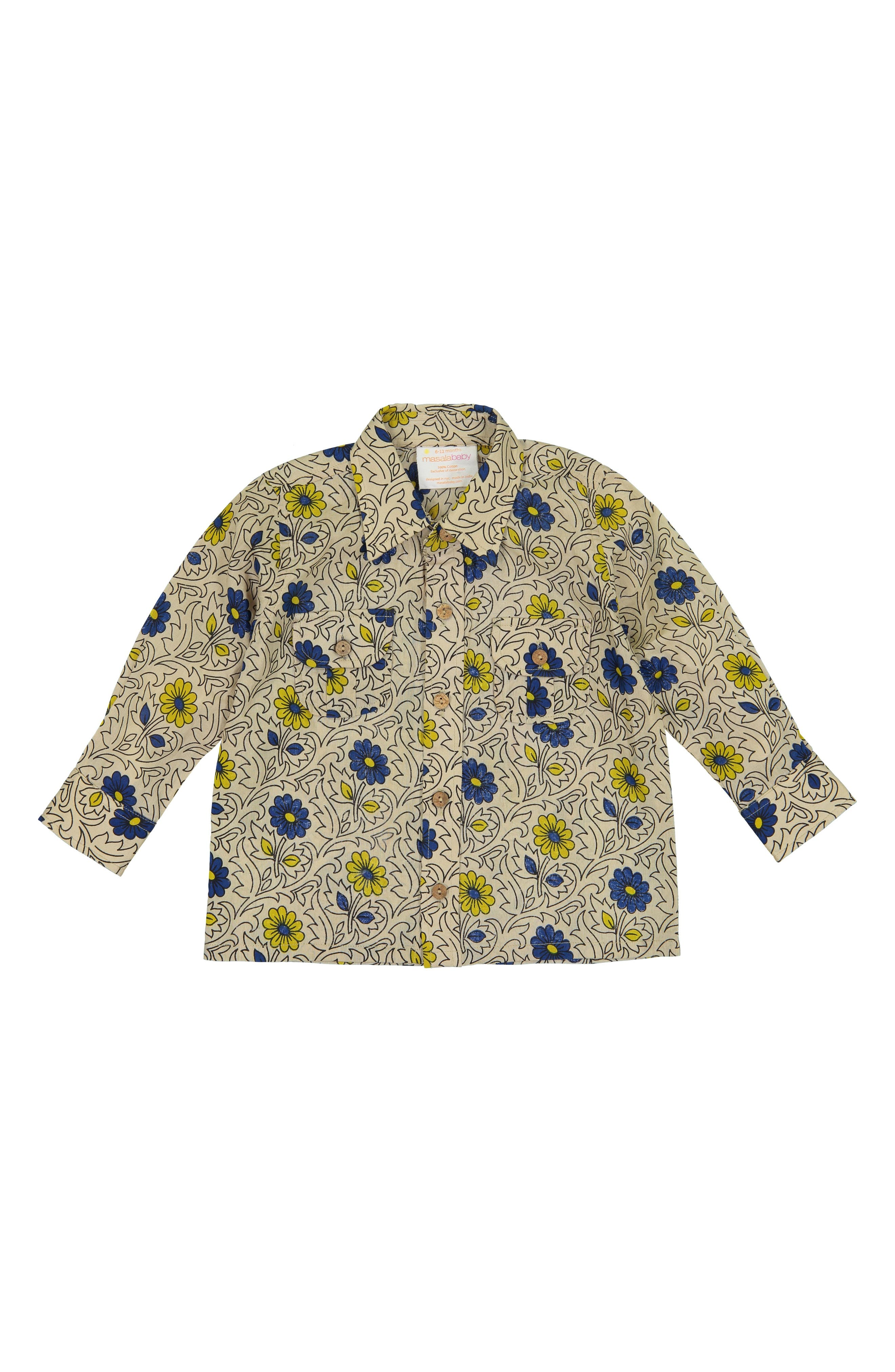 Mason Woven Shirt,                             Main thumbnail 1, color,                             SAND