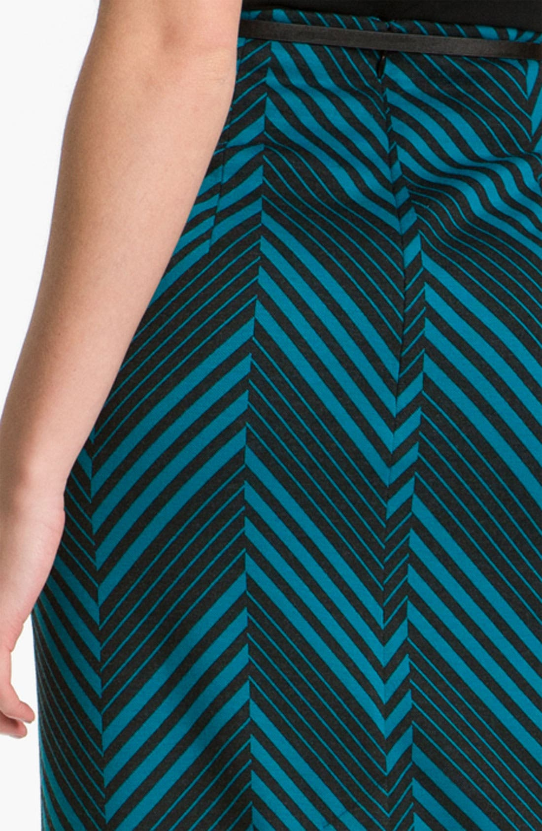 Belted Ponte Skirt,                             Alternate thumbnail 35, color,