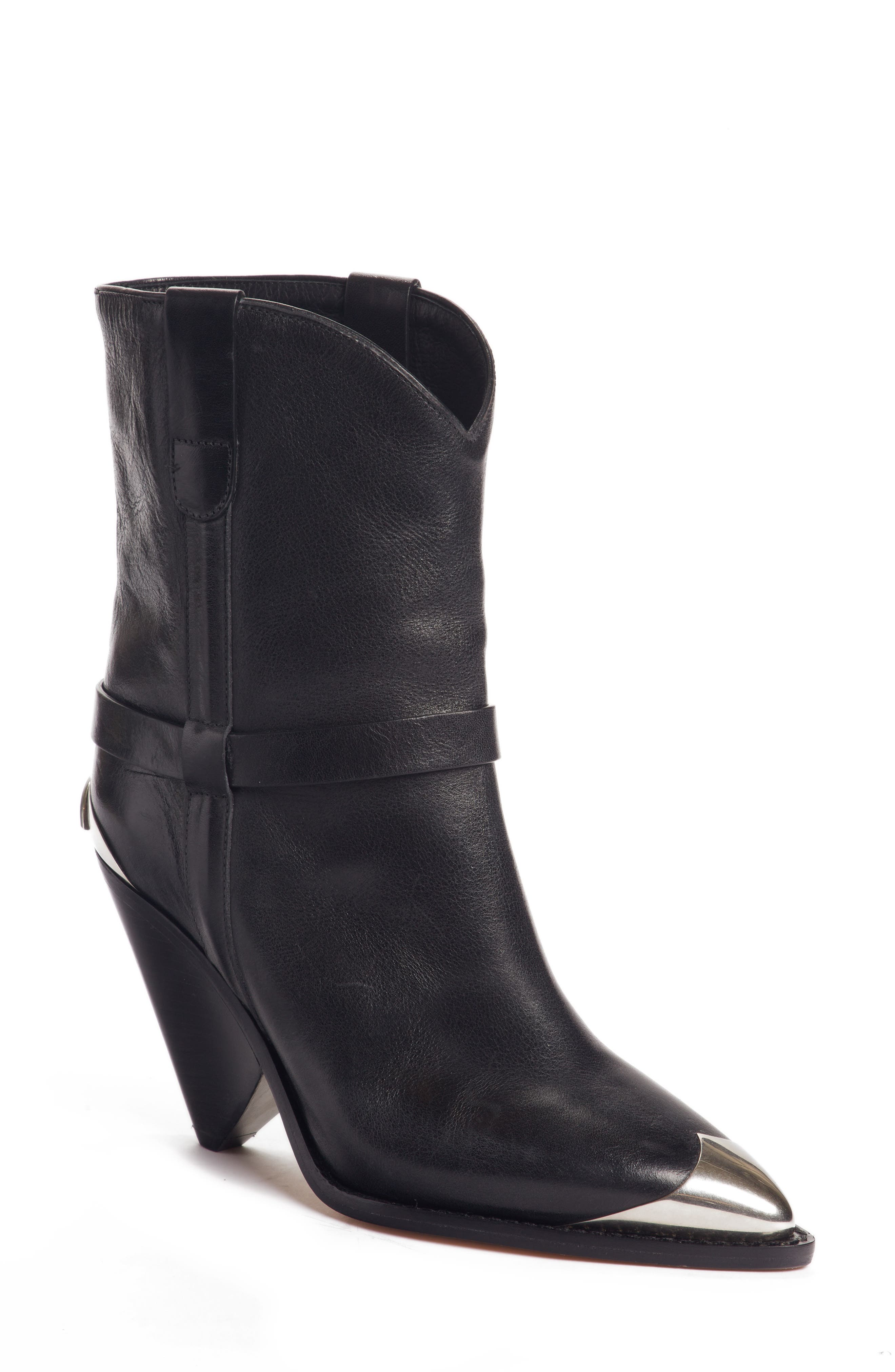 Lamsy Pointy Toe Boot,                         Main,                         color, 001
