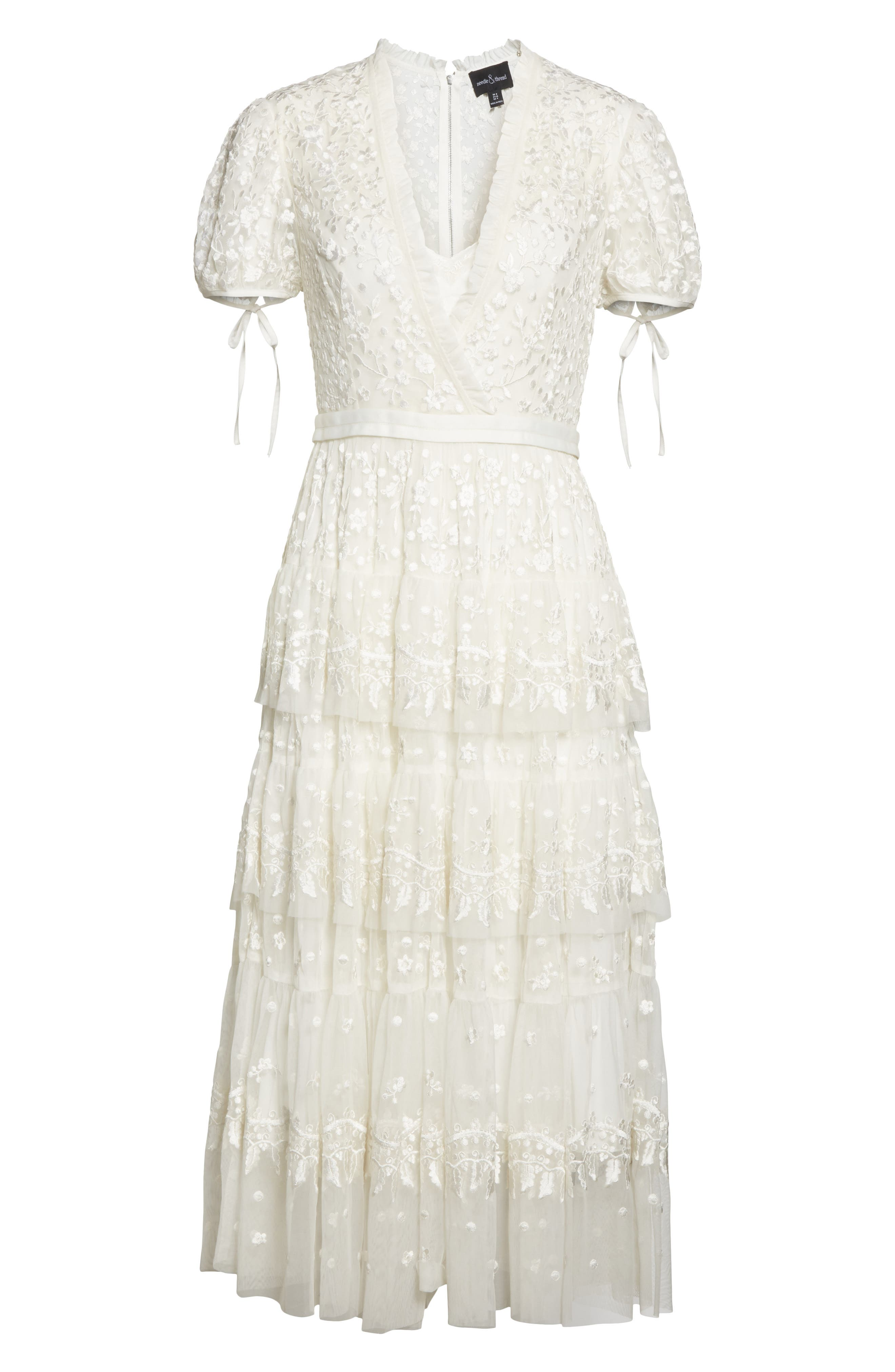 Layered Lace Dress,                             Alternate thumbnail 6, color,
