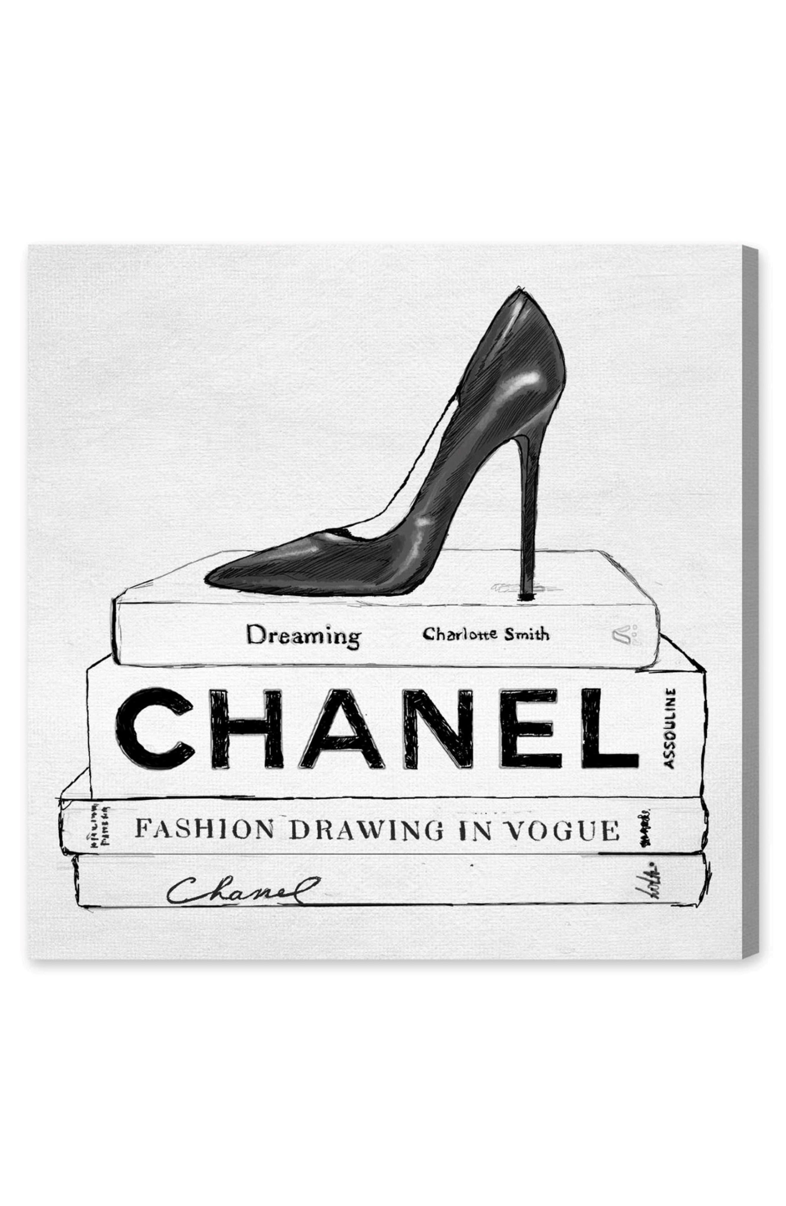Simplicity in Fashion Canvas Wall Art,                             Main thumbnail 1, color,                             100