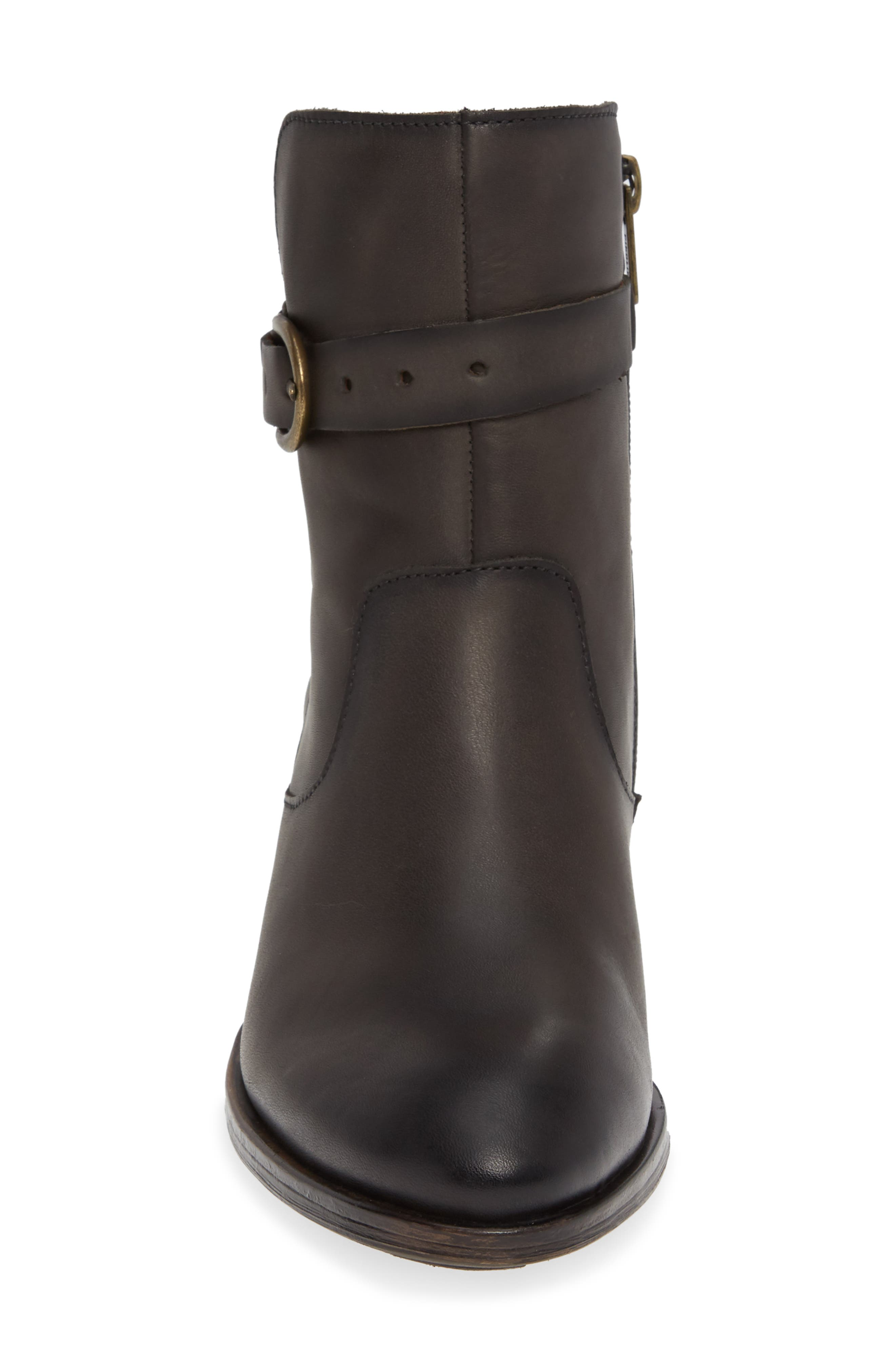 Baqueira Bootie,                             Alternate thumbnail 4, color,                             LEAD LEATHER