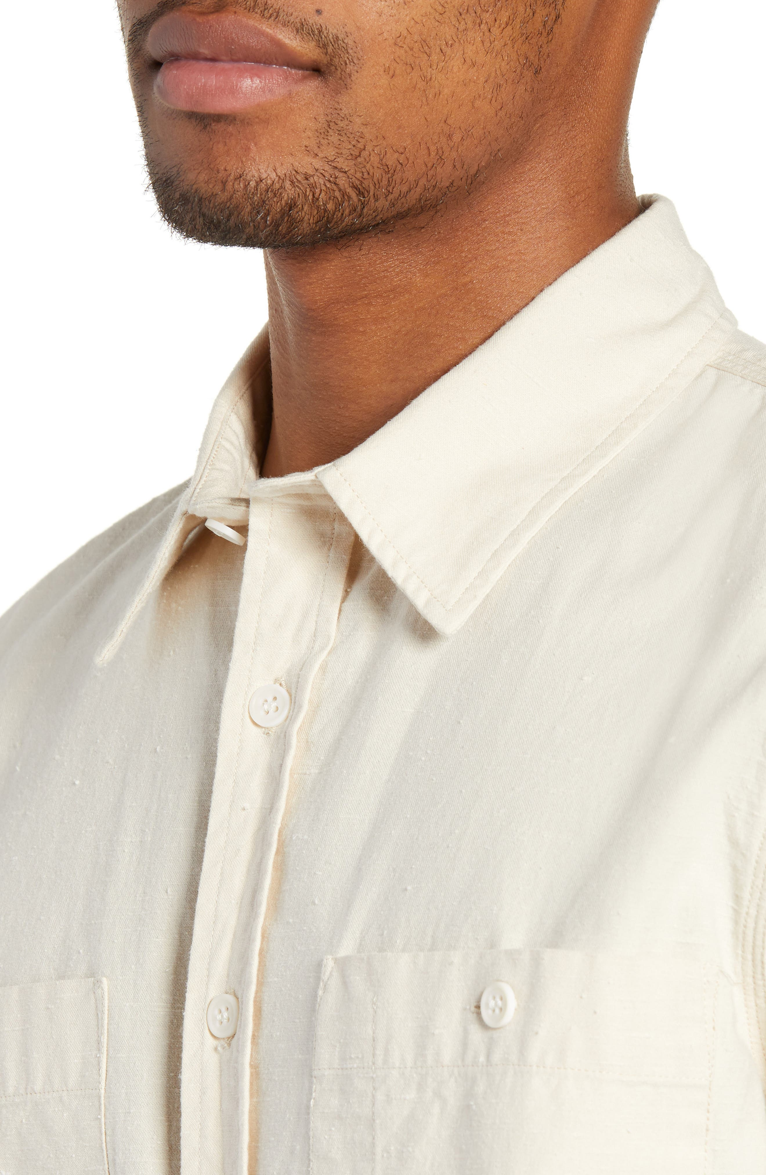 Workwear Regular Fit Shirt,                             Alternate thumbnail 2, color,                             PRISTINE
