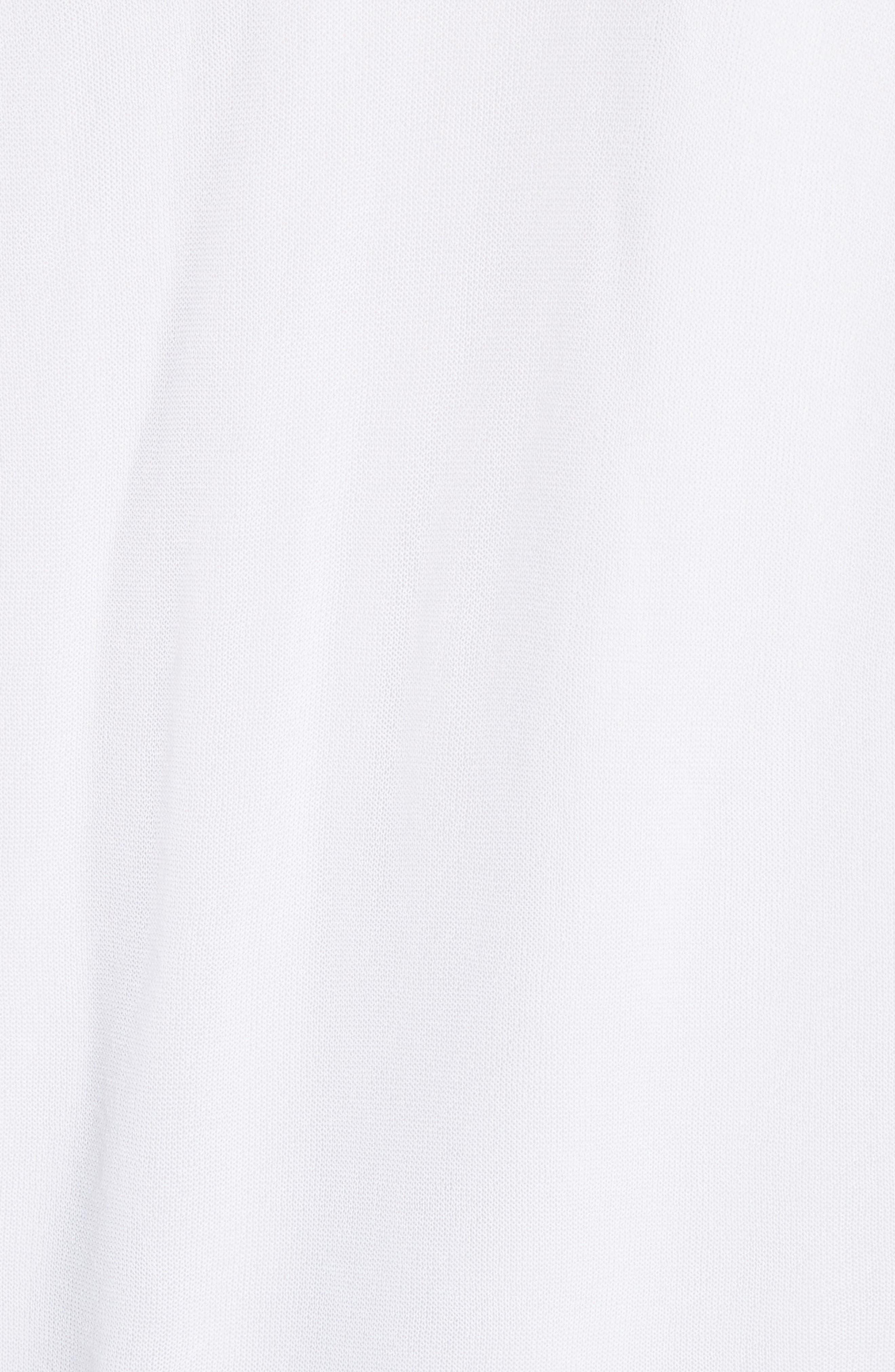 Ethereal Sheer Knit Bomber Jacket,                             Alternate thumbnail 5, color,                             100