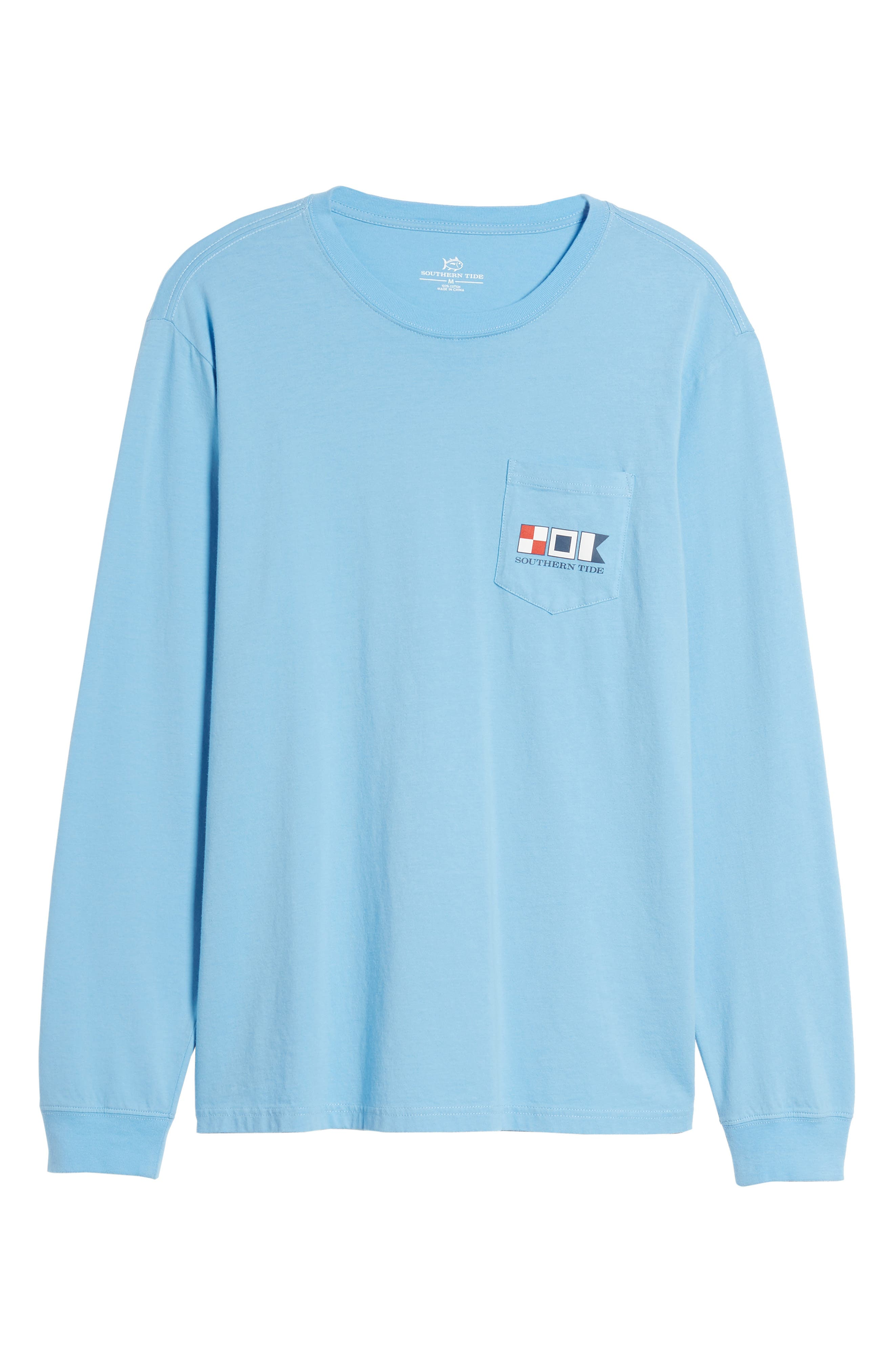 We the People Regular Fit Long Sleeve T-Shirt,                             Alternate thumbnail 6, color,                             392