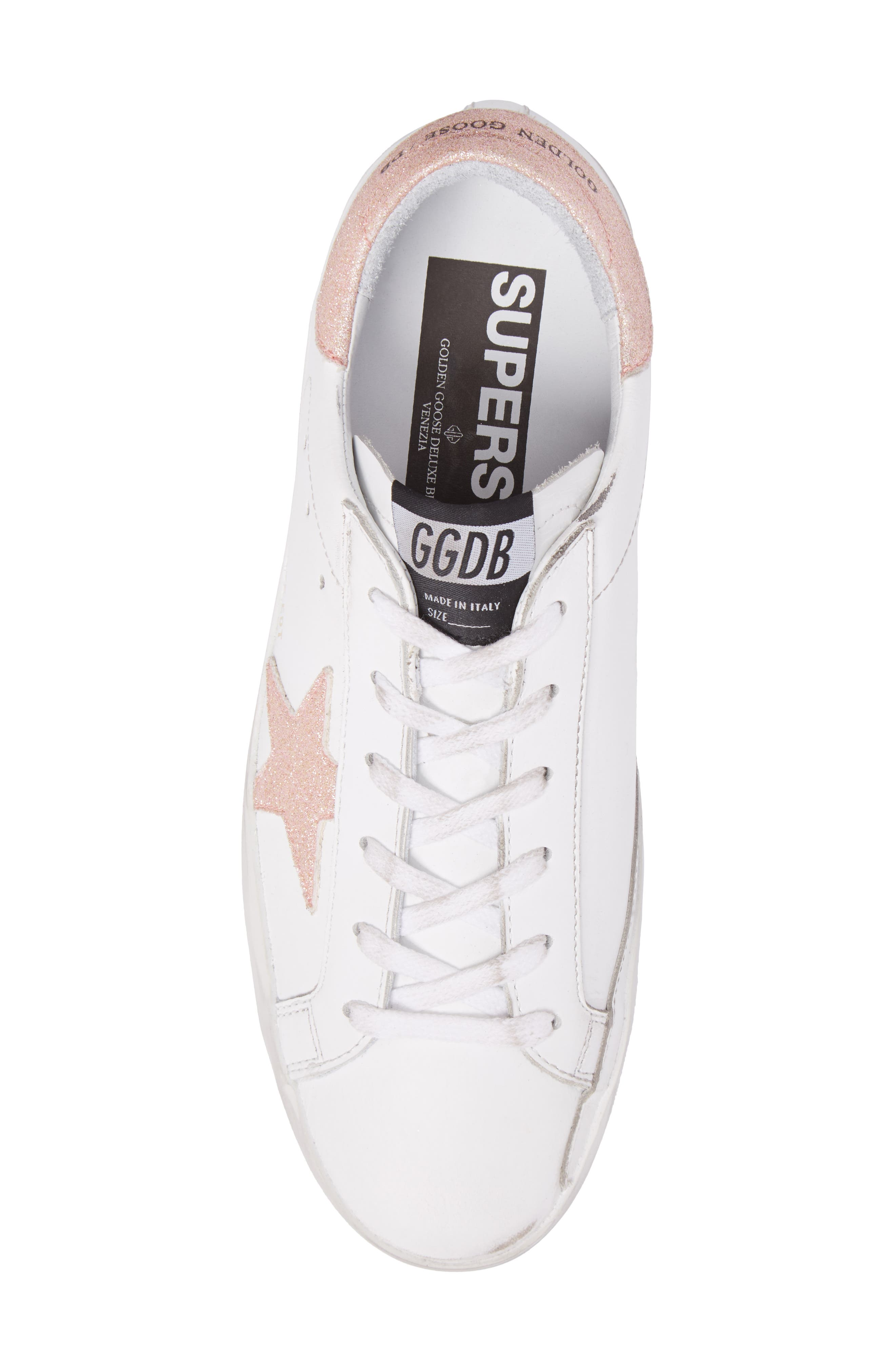 Superstar Low Top Sneaker,                             Alternate thumbnail 5, color,