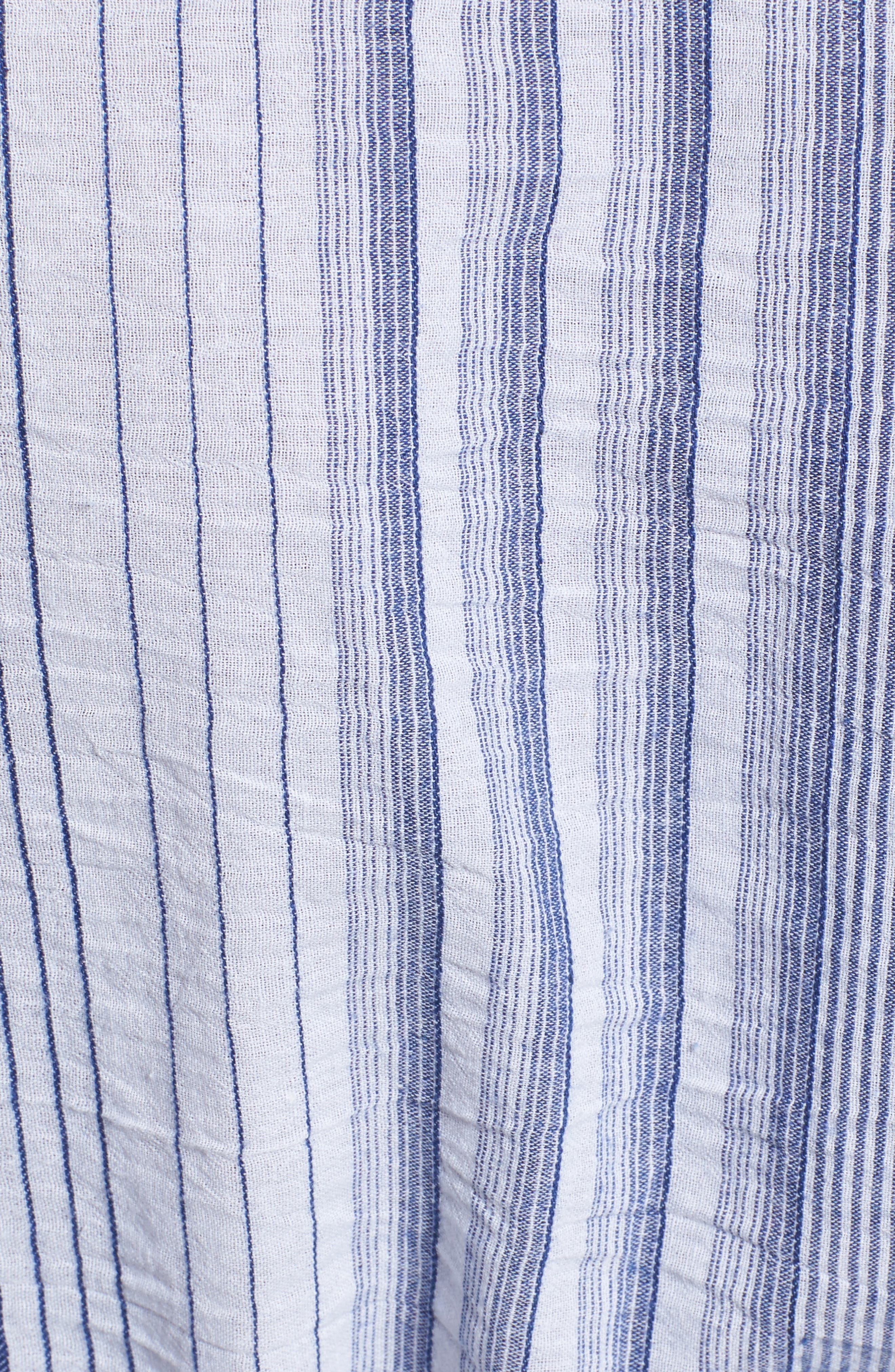 Tier Sleeve Wrap Top,                             Alternate thumbnail 5, color,                             406