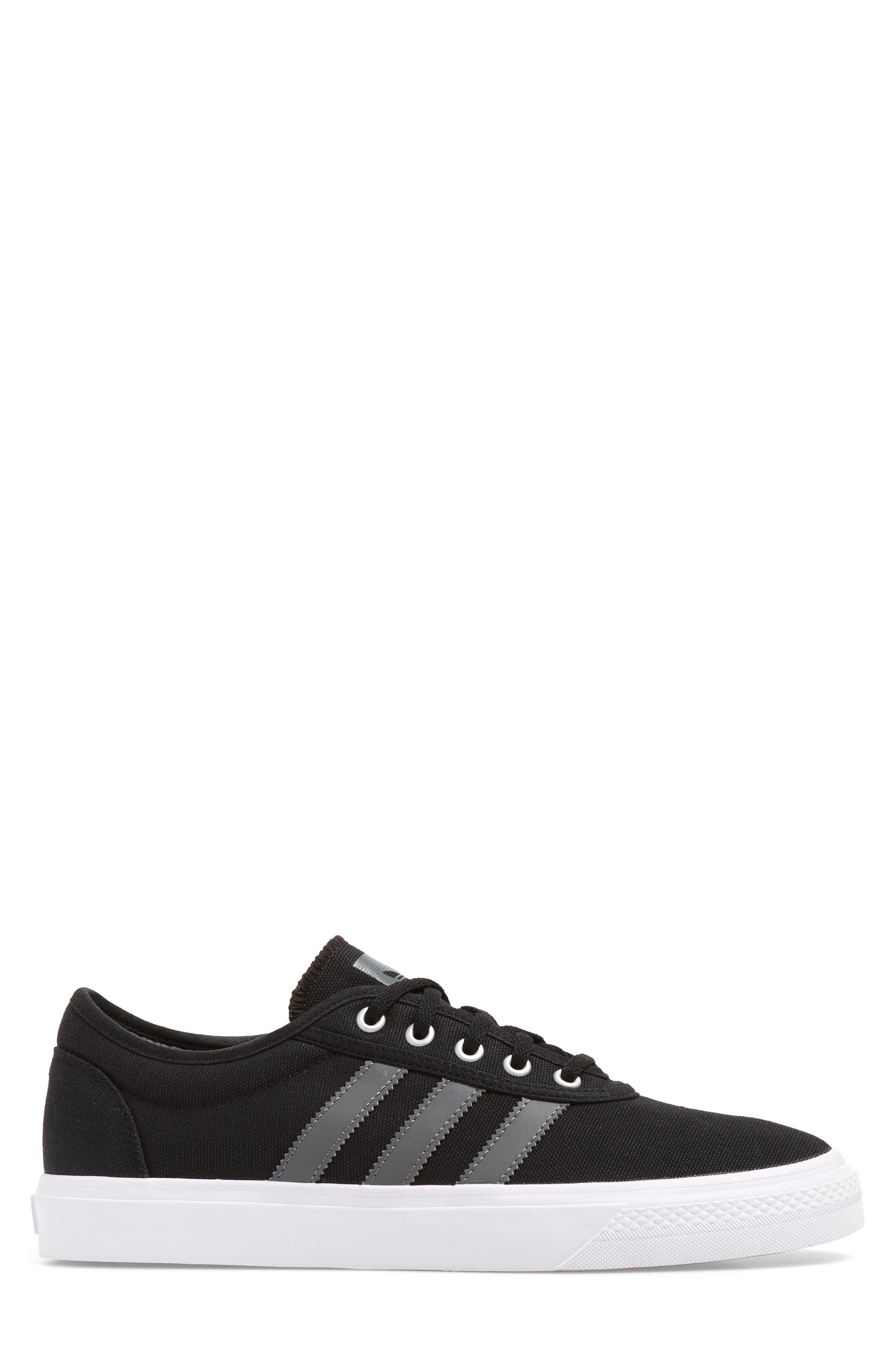 Adiease Skate Sneaker,                             Alternate thumbnail 3, color,                             001