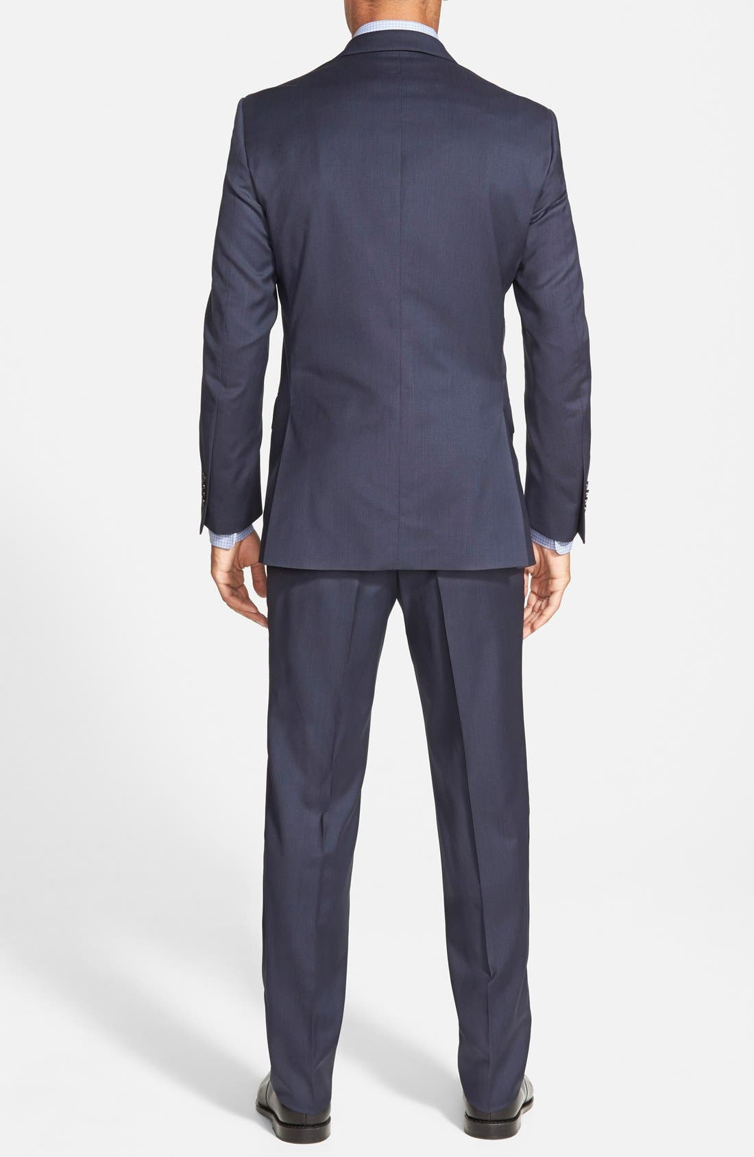 'Flynn' Classic Fit Wool Suit,                             Alternate thumbnail 6, color,                             410