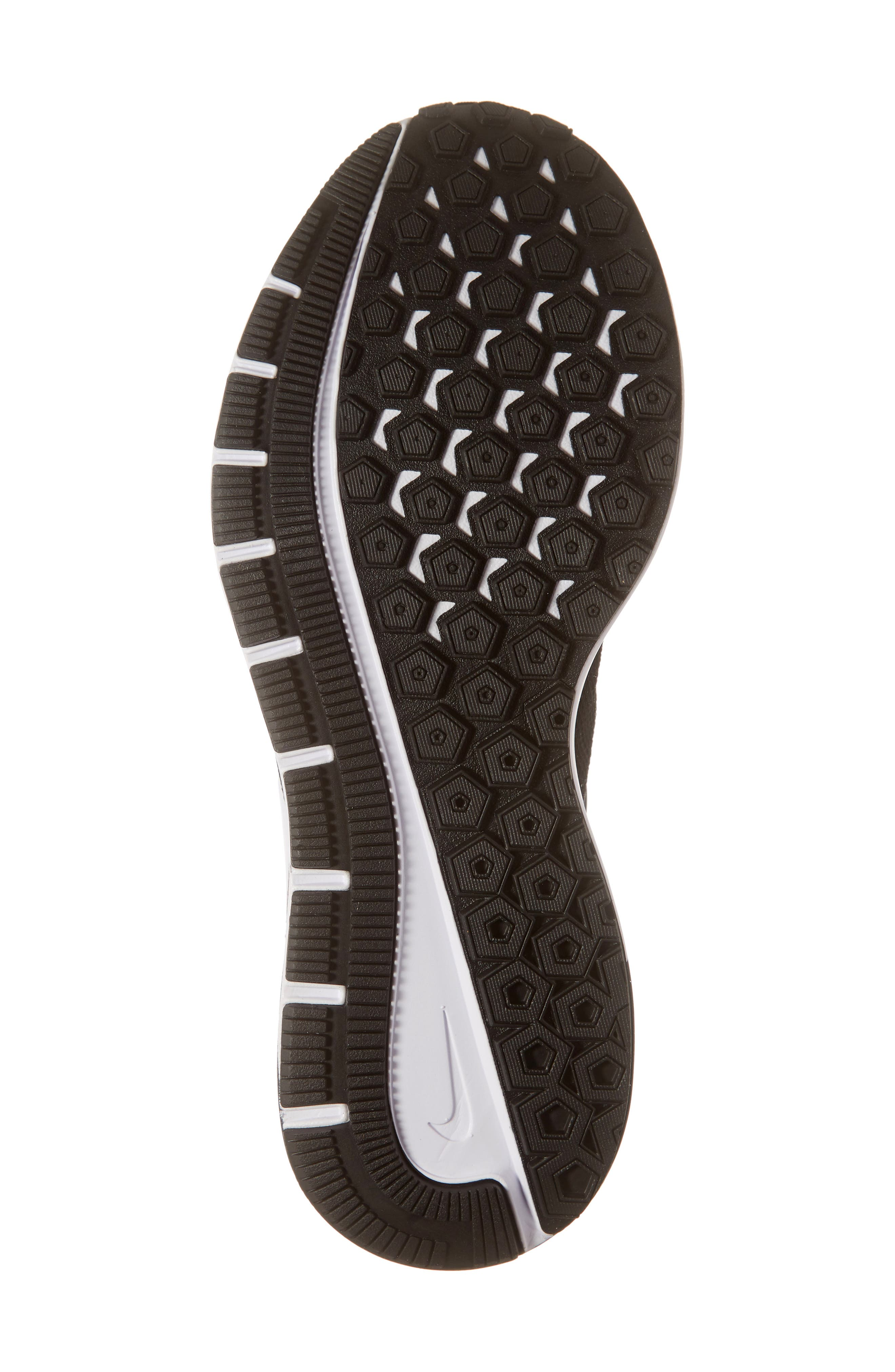 Air Zoom Structure 22 Running Shoe,                             Alternate thumbnail 6, color,                             BLACK/ WHITE/ GRIDIRON