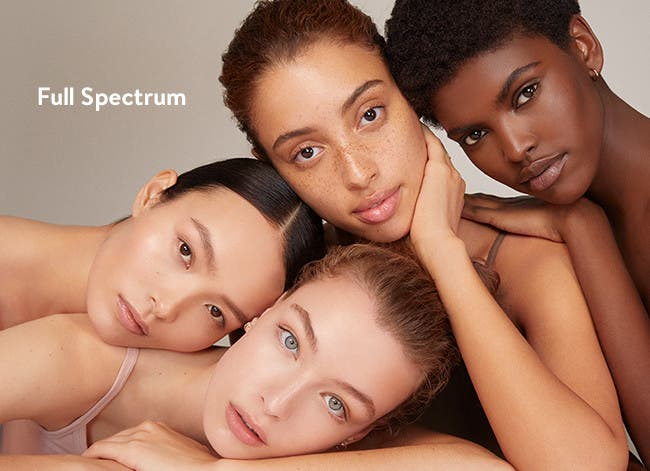 Foundations, concealers, powders and more in a full spectrum of shades.