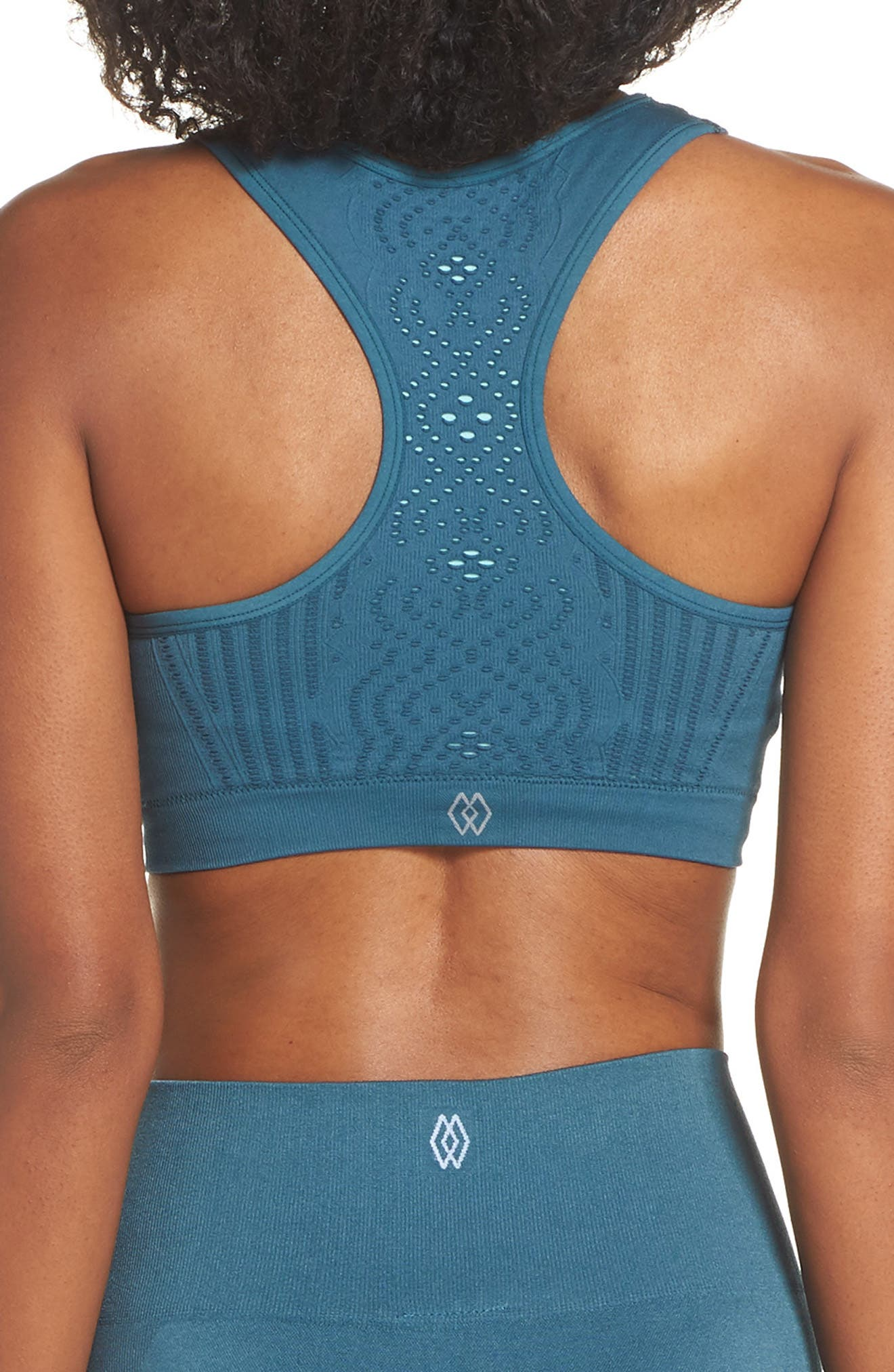 CLIMAWEAR,                             Hansa Sports Bra,                             Alternate thumbnail 2, color,                             NORTH SEA W/ AQUA HAZE