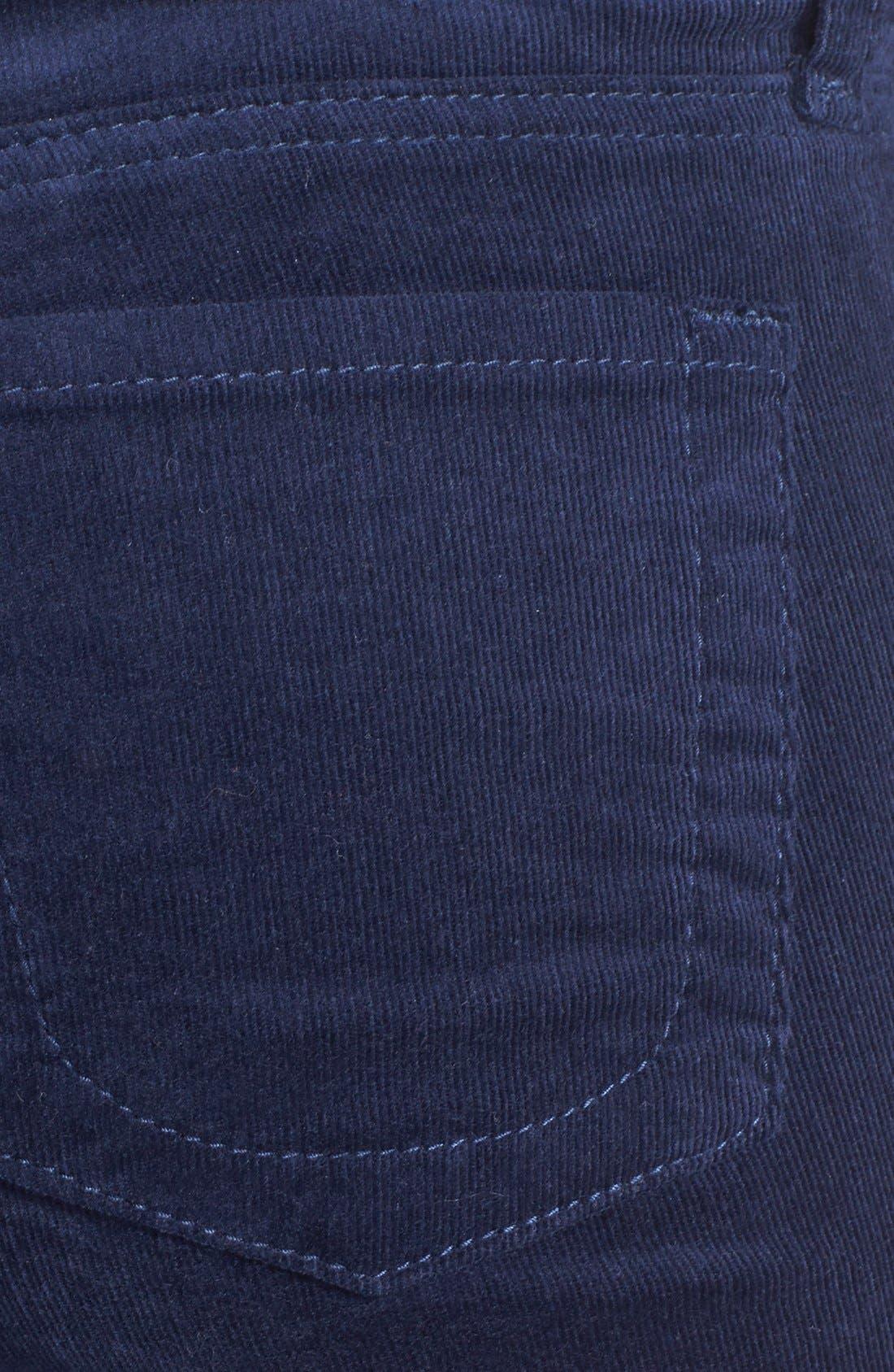 'Diana' Stretch Corduroy Skinny Pants,                             Alternate thumbnail 185, color,