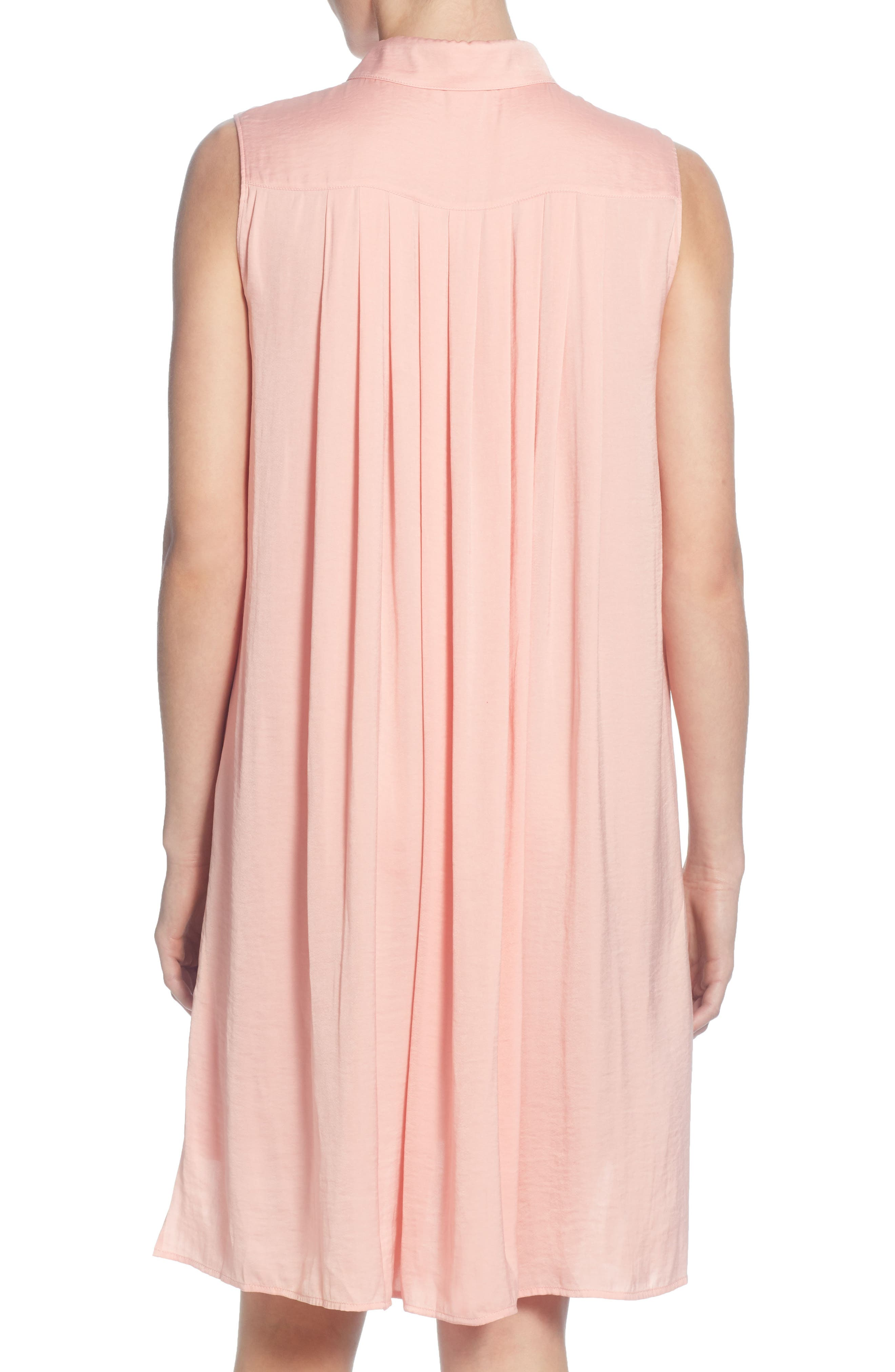 CATHERINE CATHERINE MALANDRINO,                             Stella High/Low Tunic Top,                             Alternate thumbnail 2, color,                             CORAL