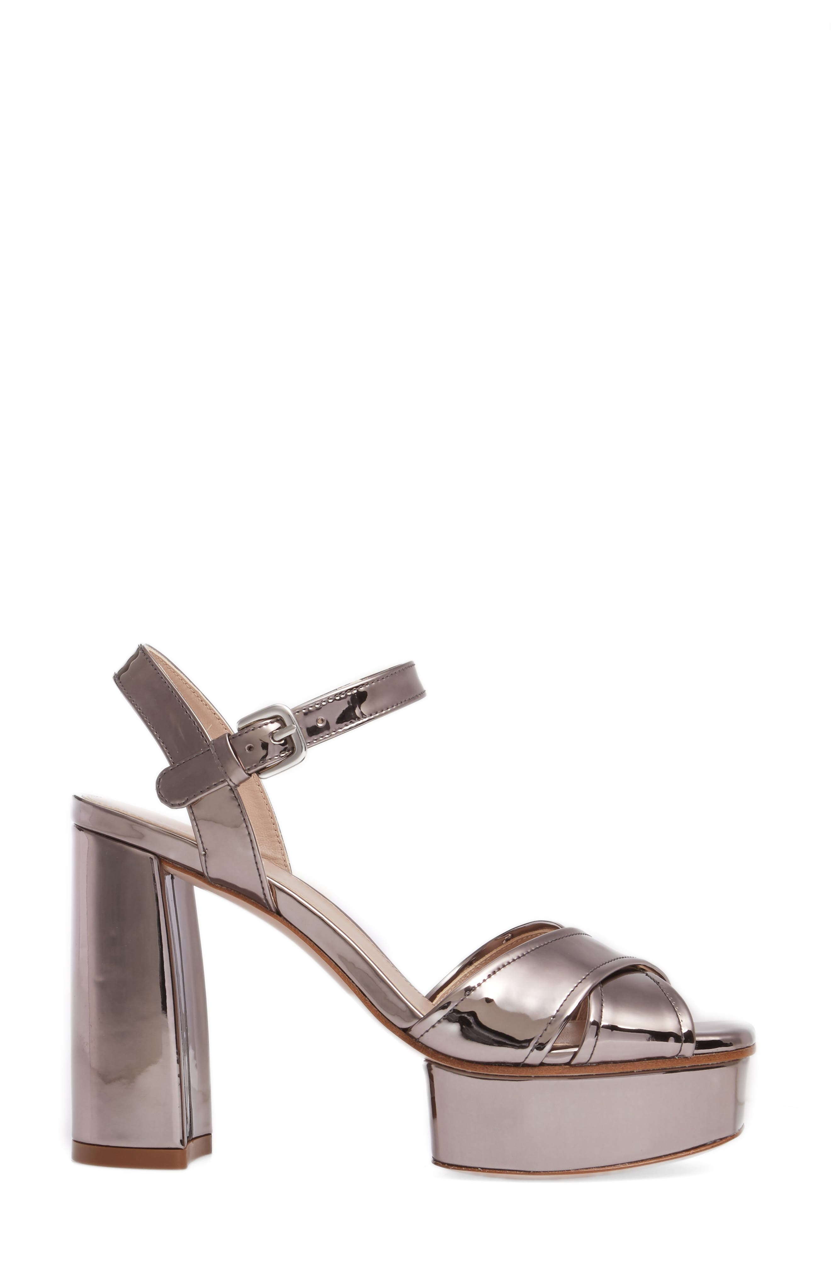 Exposed Platform Sandal,                             Alternate thumbnail 15, color,