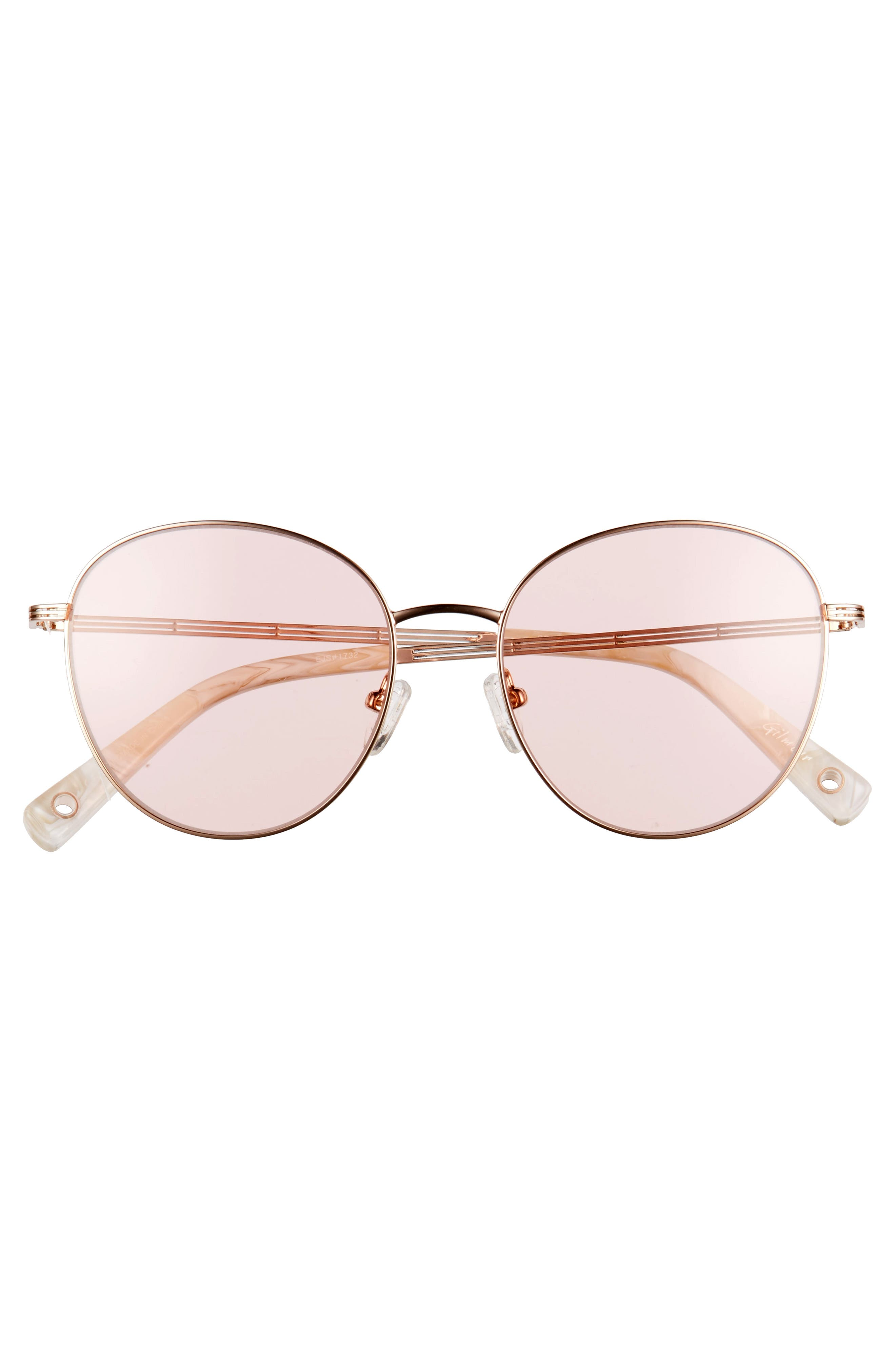 Gilmour 53mm Round Sunglasses & Beaded Chain,                             Alternate thumbnail 9, color,