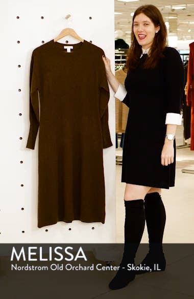 Cashmere Blend Sweater Dress, sales video thumbnail