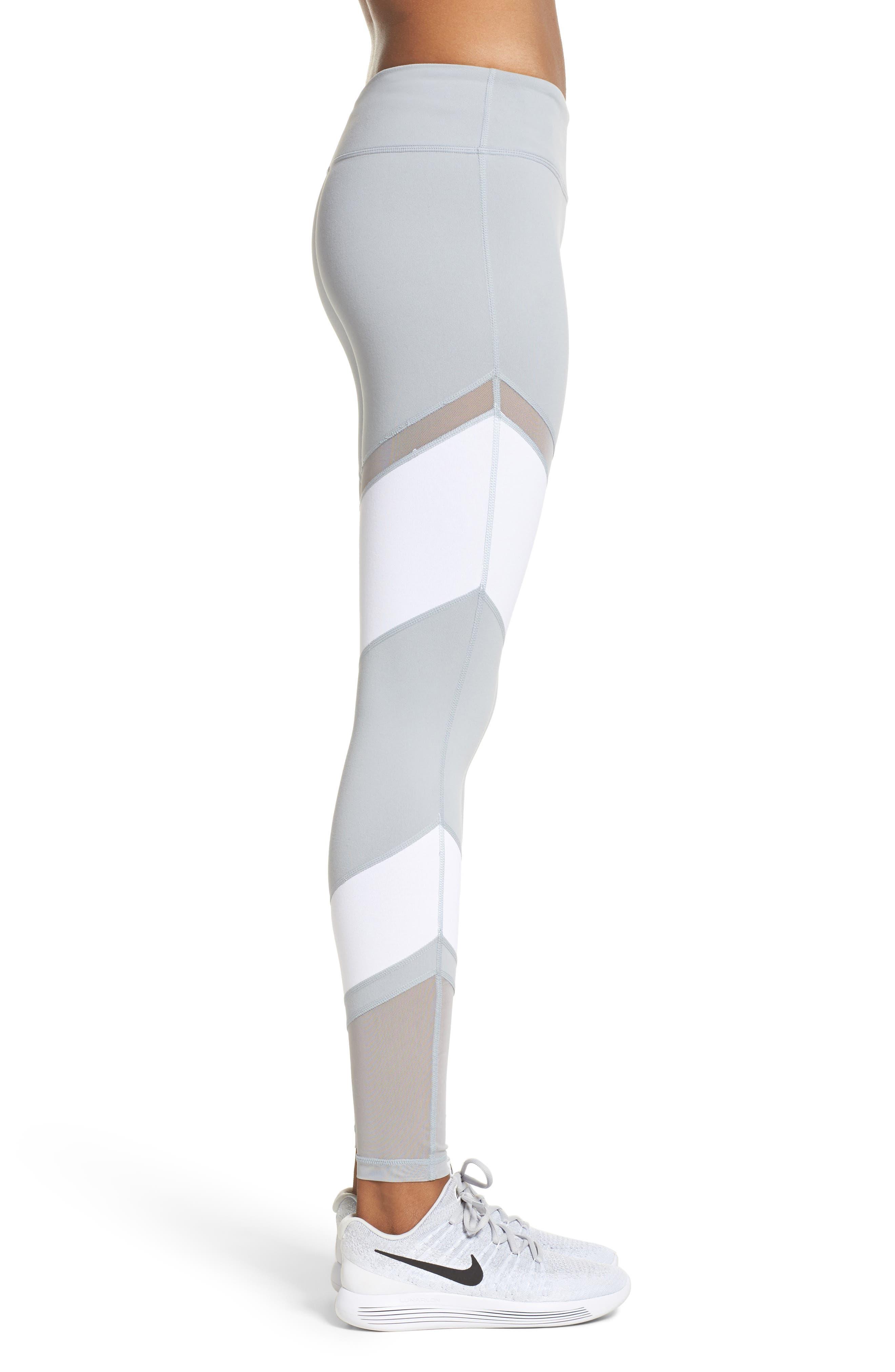 Epic Clean Block Ankle Leggings,                             Alternate thumbnail 9, color,