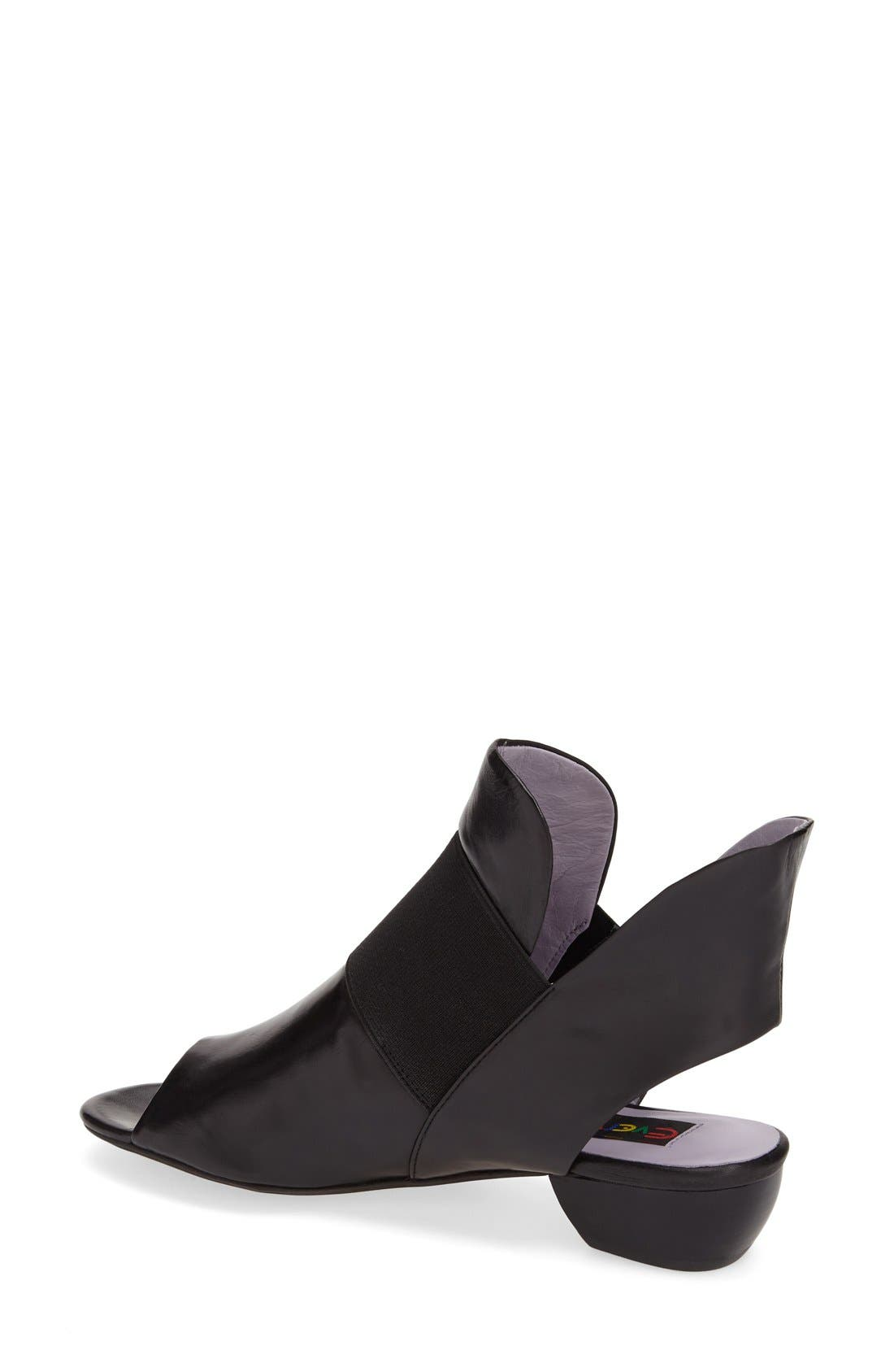 'Mabbare' Cutout Bootie,                             Alternate thumbnail 4, color,                             001