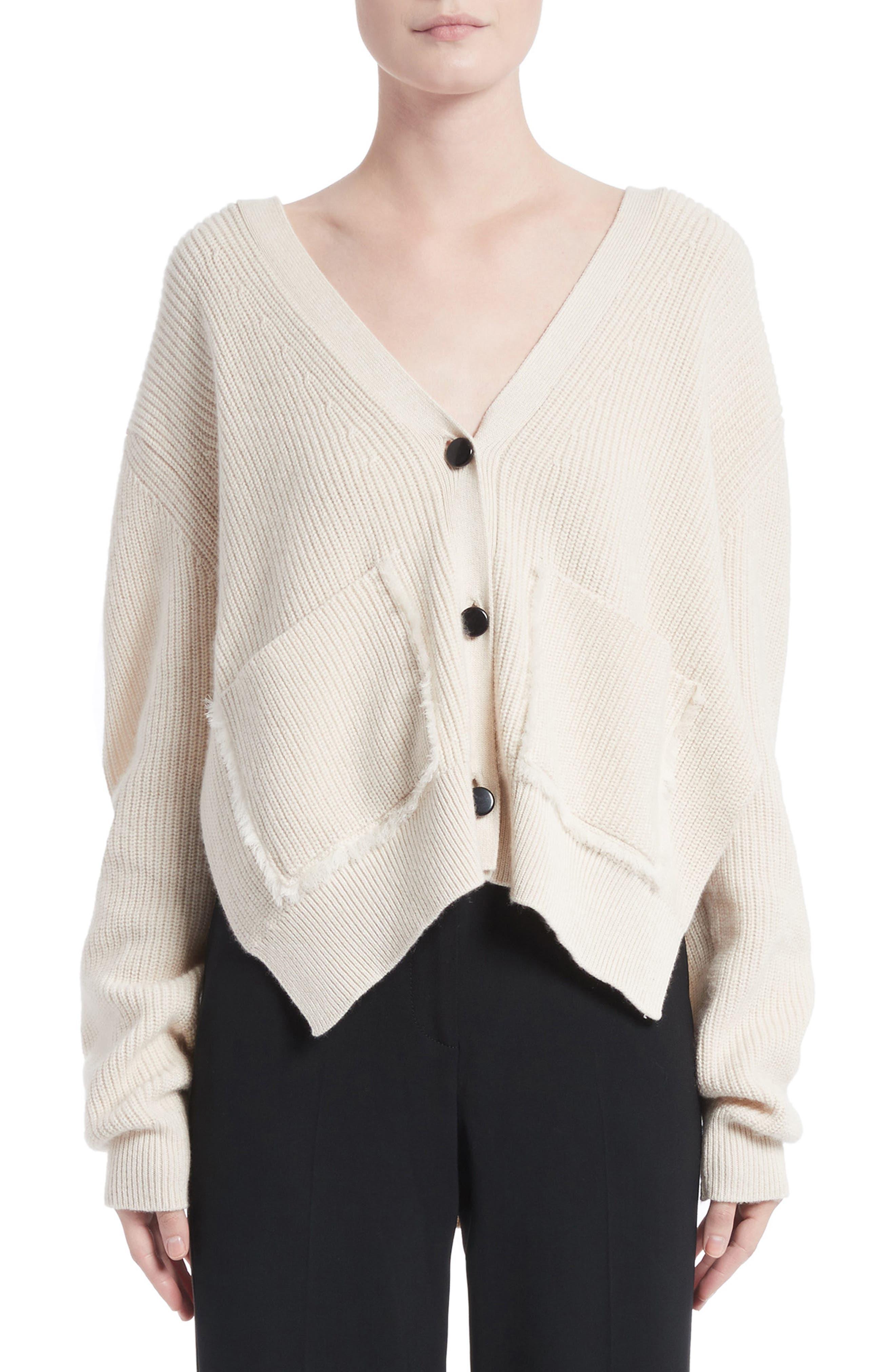 Cotton & Cashmere Cardigan,                             Main thumbnail 1, color,