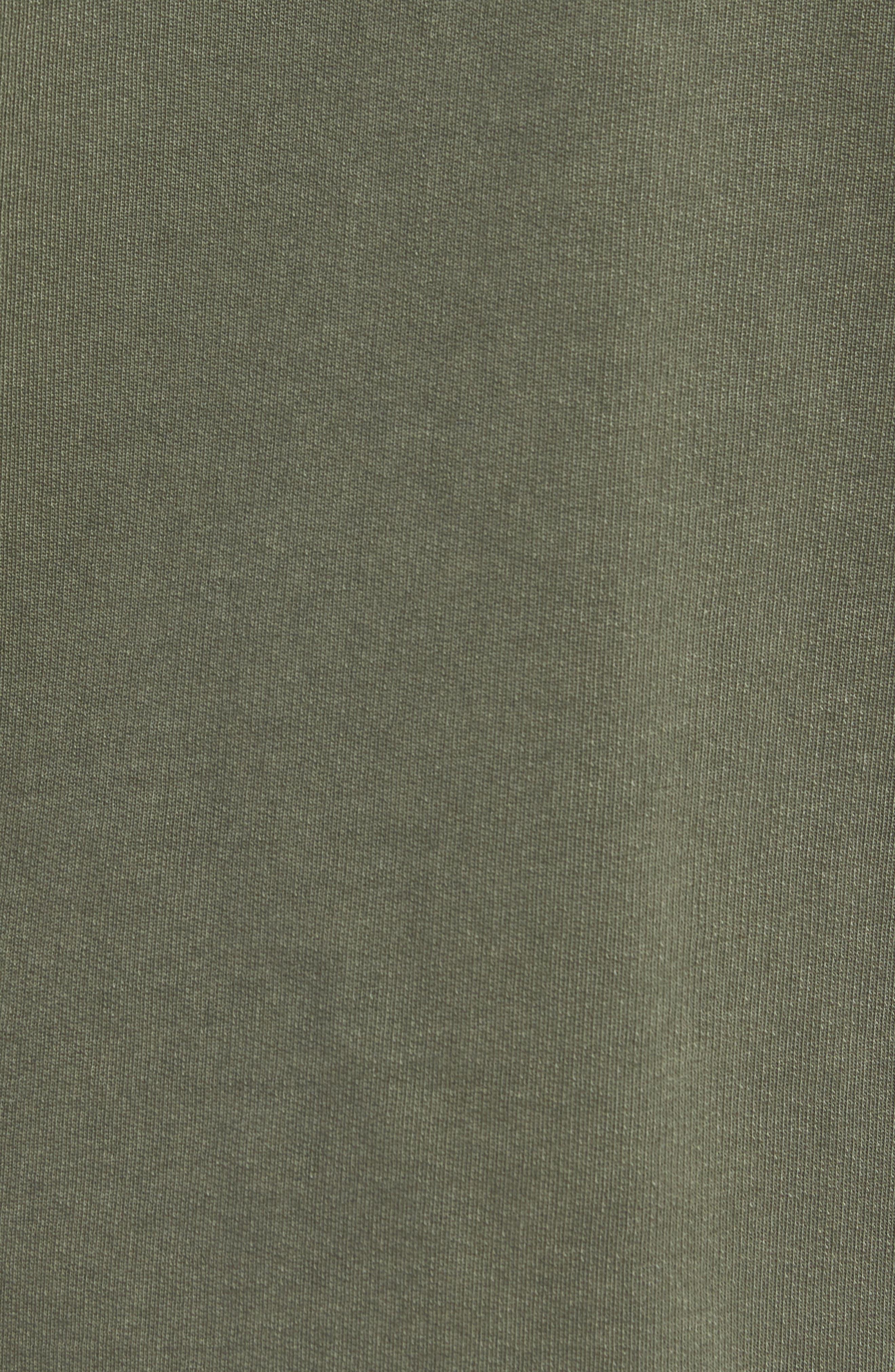 Patchwork Long Sleeve T-Shirt,                             Alternate thumbnail 5, color,                             COMBAT