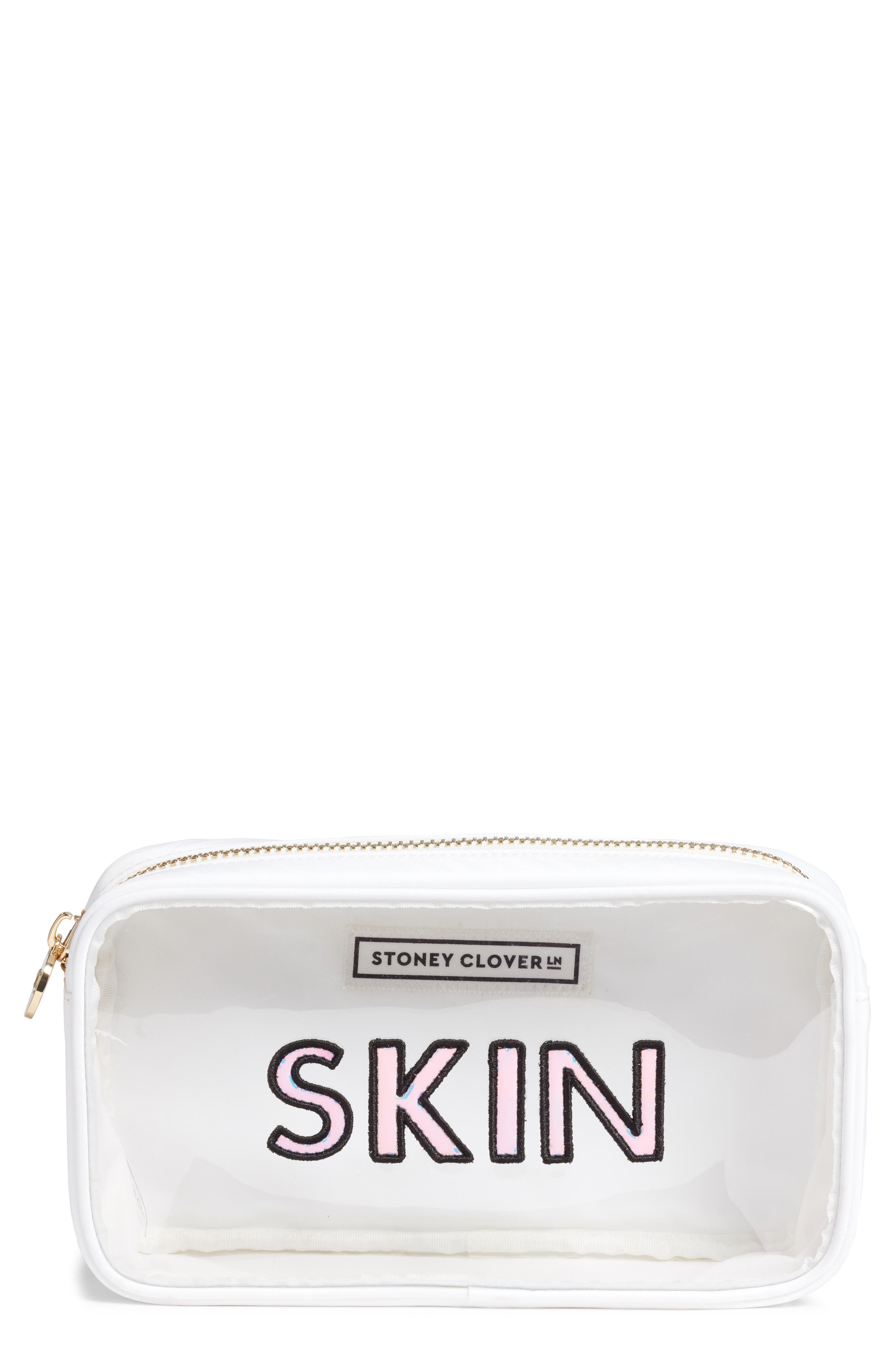 STONEY CLOVER LANE Small Pouch in White