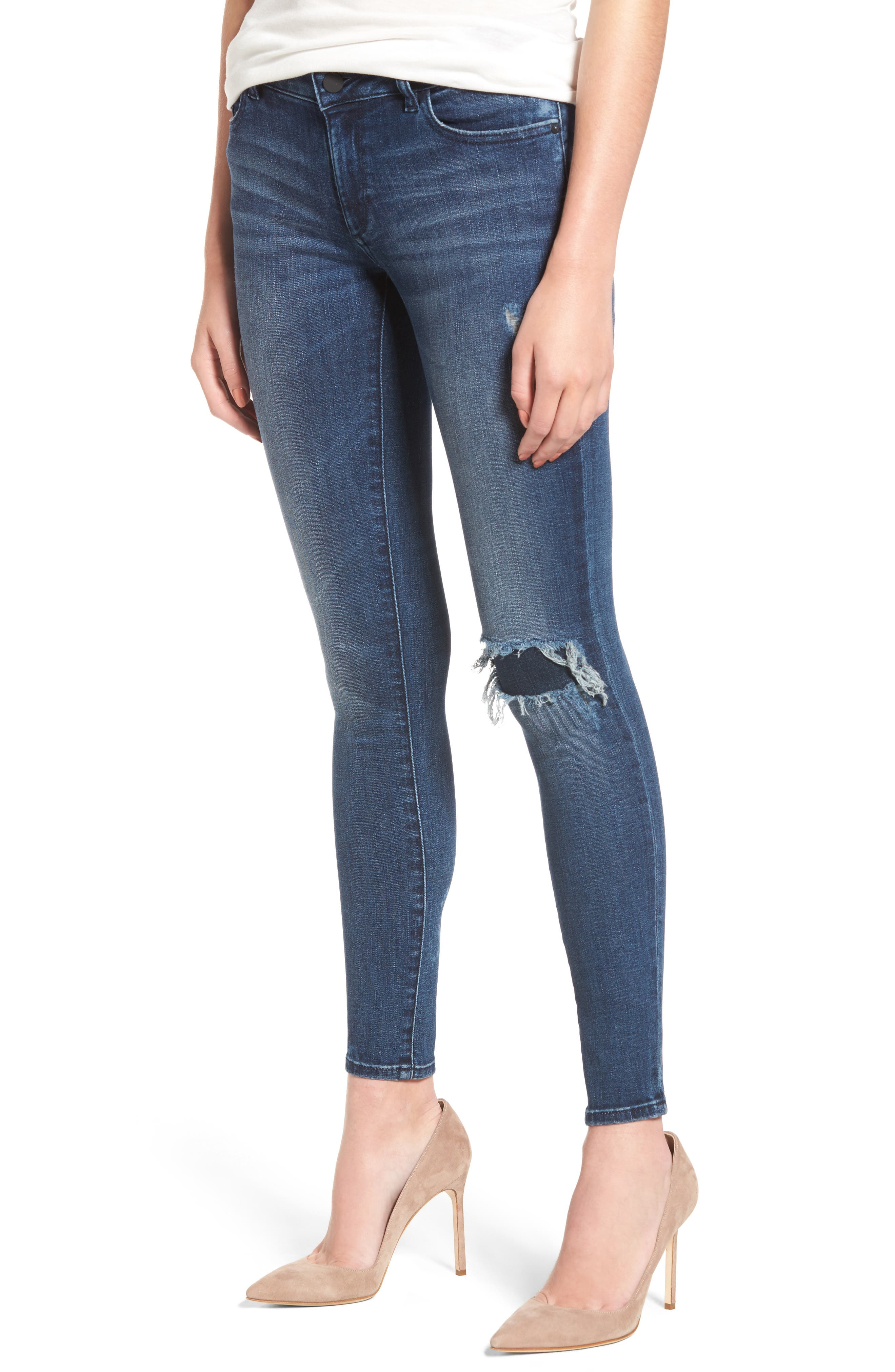 Emma Ripped Power Legging Jeans,                         Main,                         color, 426