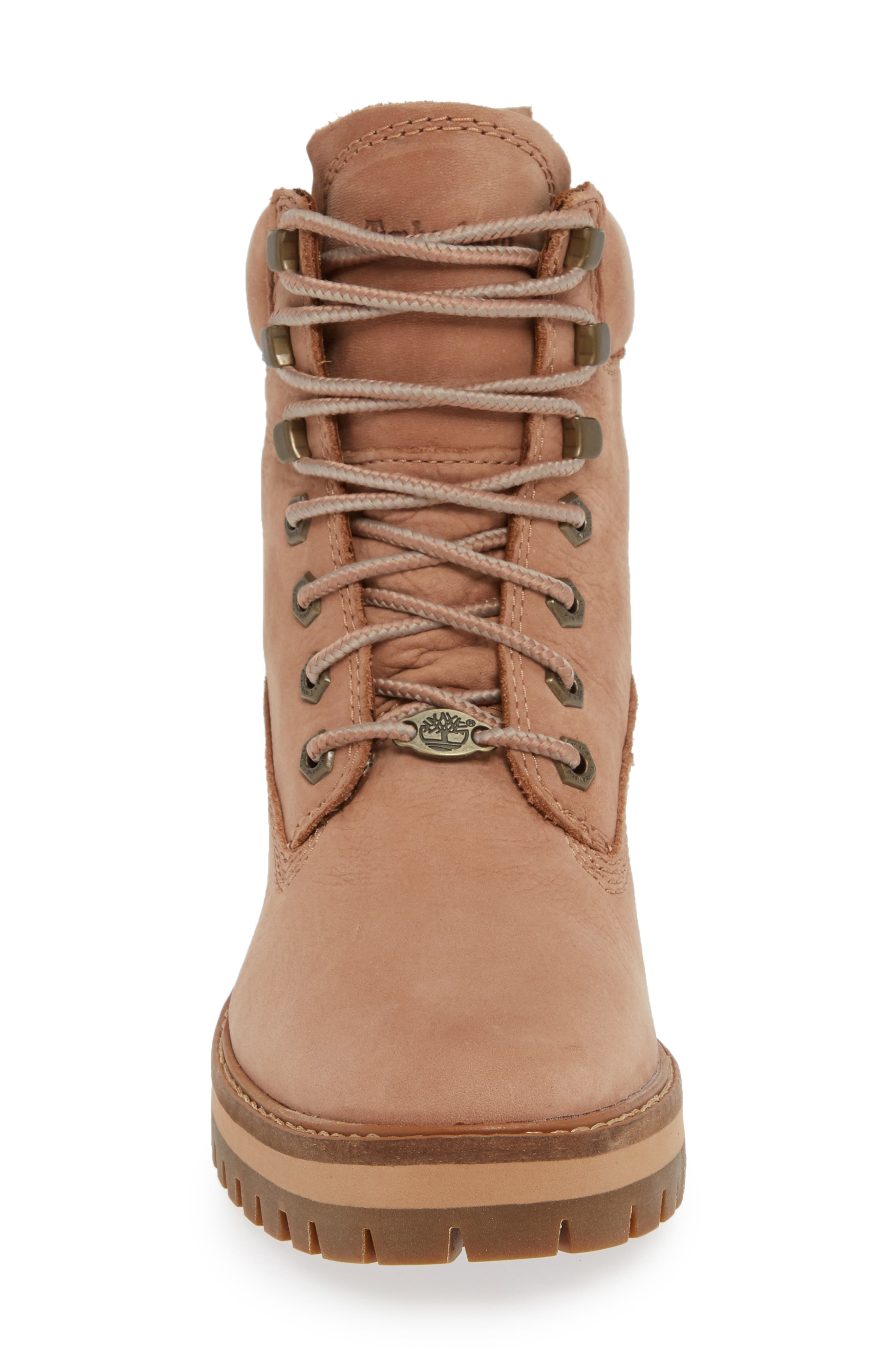 Courmayeur Valley Water Resistant Hiking Boot,                             Alternate thumbnail 4, color,                             TAWNY BROWN NUBUCK