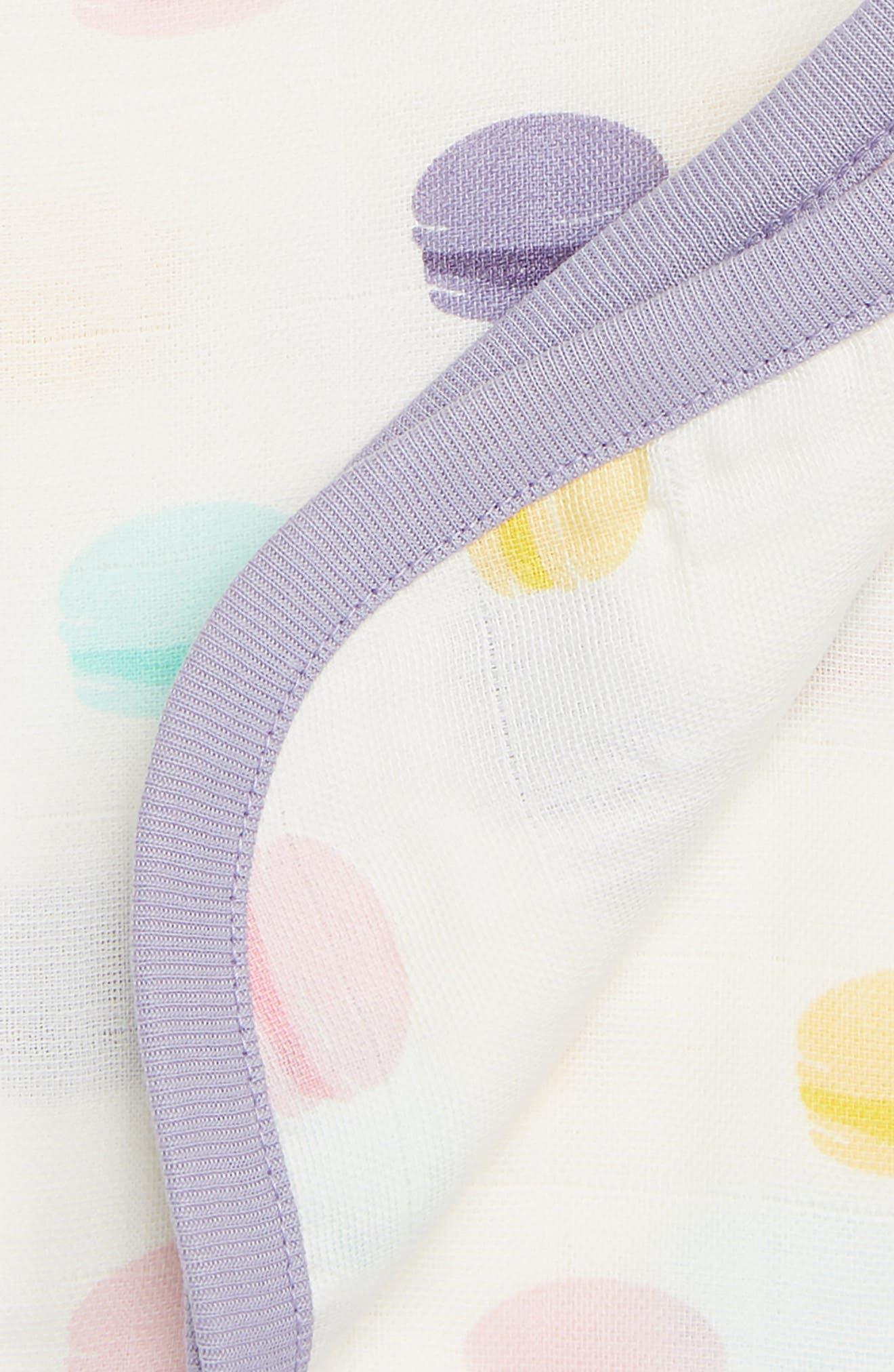 Le Macaron Organic Cotton Always Blanket,                             Alternate thumbnail 2, color,                             501