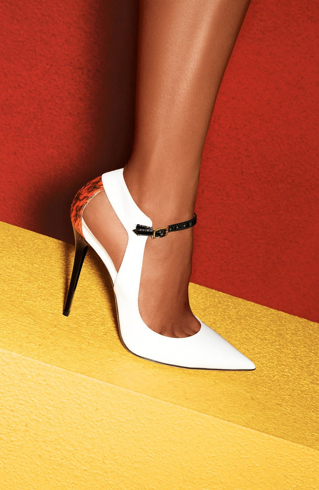'Maiden' Pointy Toe Pump,                             Alternate thumbnail 6, color,                             100