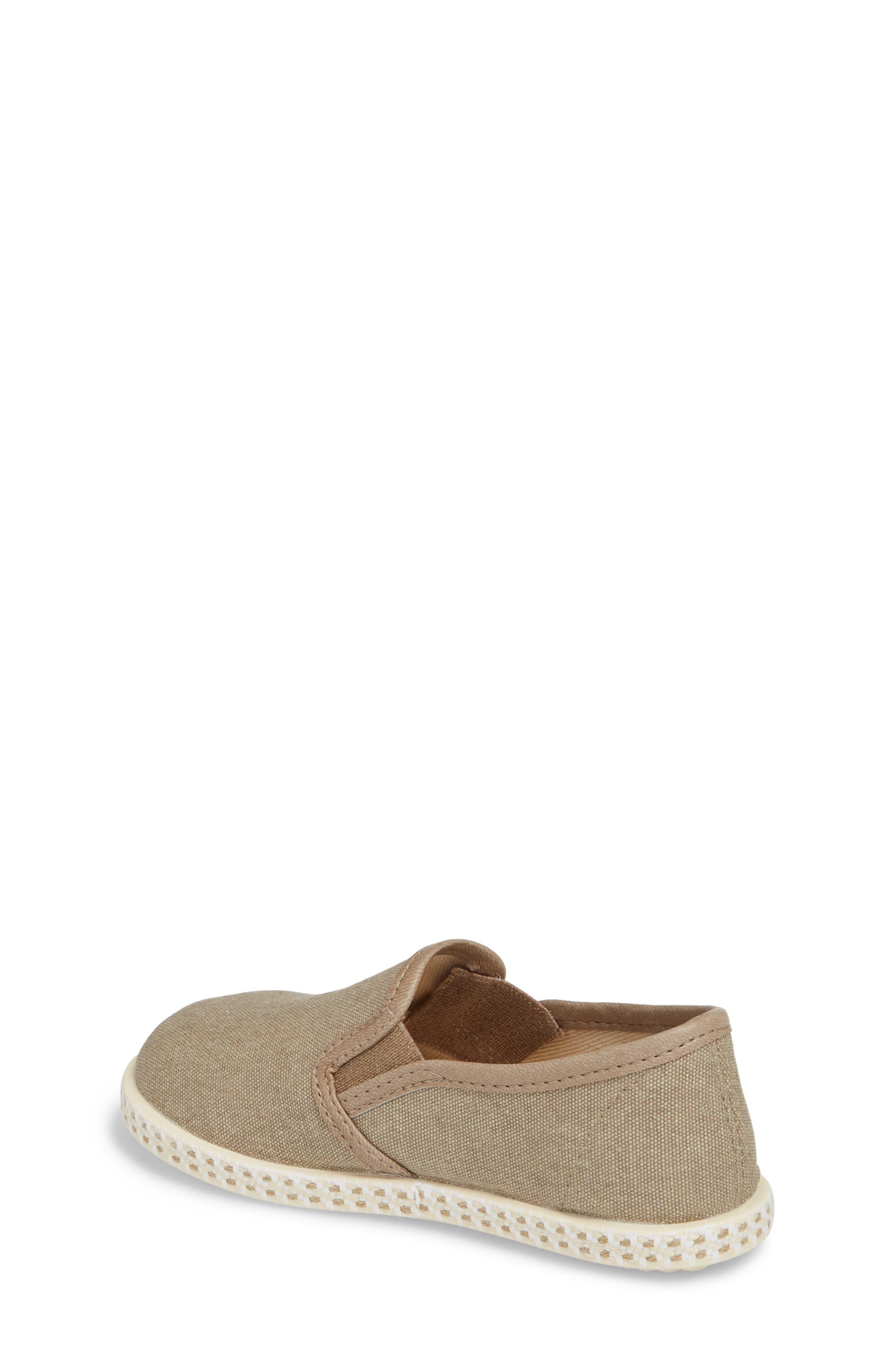 Lona Slip-On Sneaker,                             Alternate thumbnail 2, color,                             TAUPE