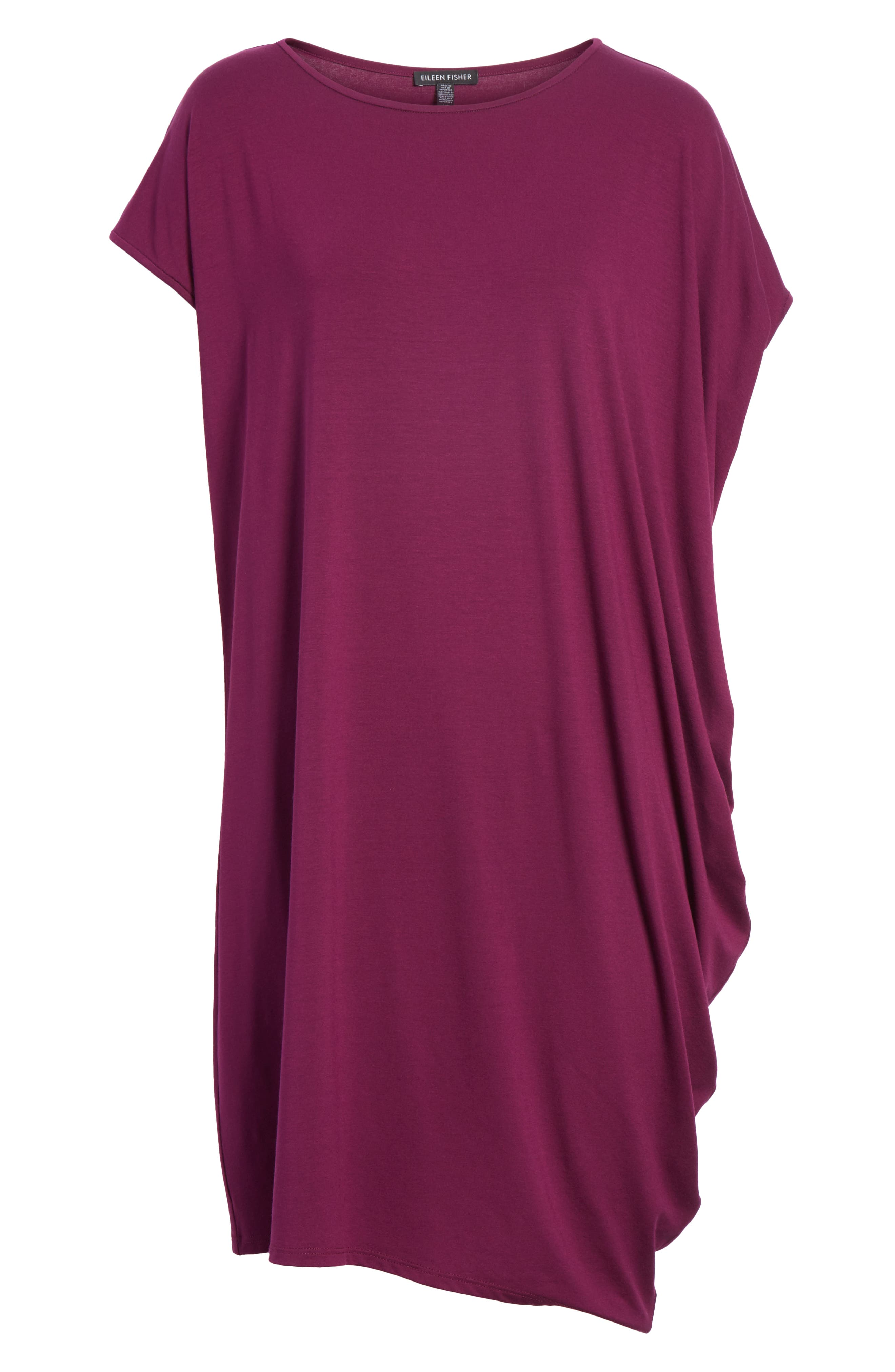 Asymmetrical Jersey Shift Dress,                             Alternate thumbnail 23, color,