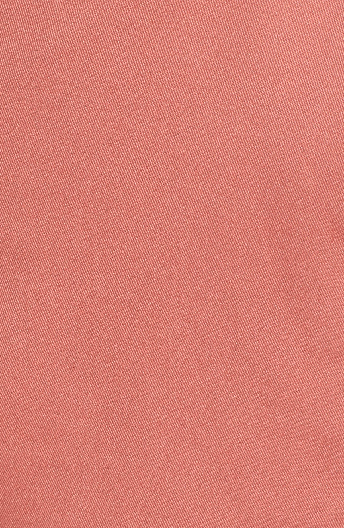 Tailored Fit Washed Stretch Cotton Chinos,                             Alternate thumbnail 164, color,
