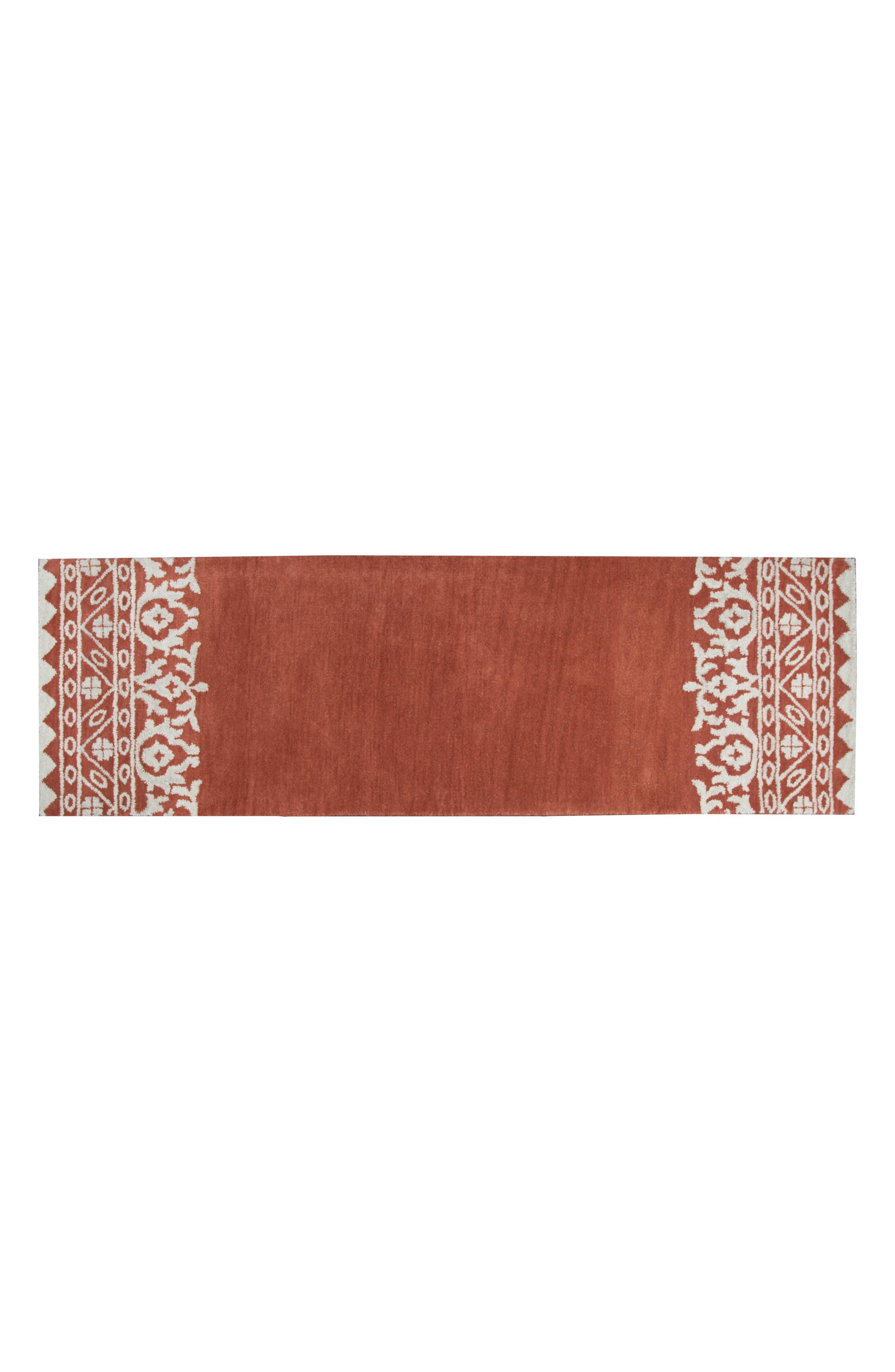 Framed Medallion Hand Tufted Wool Area Rug,                             Alternate thumbnail 12, color,