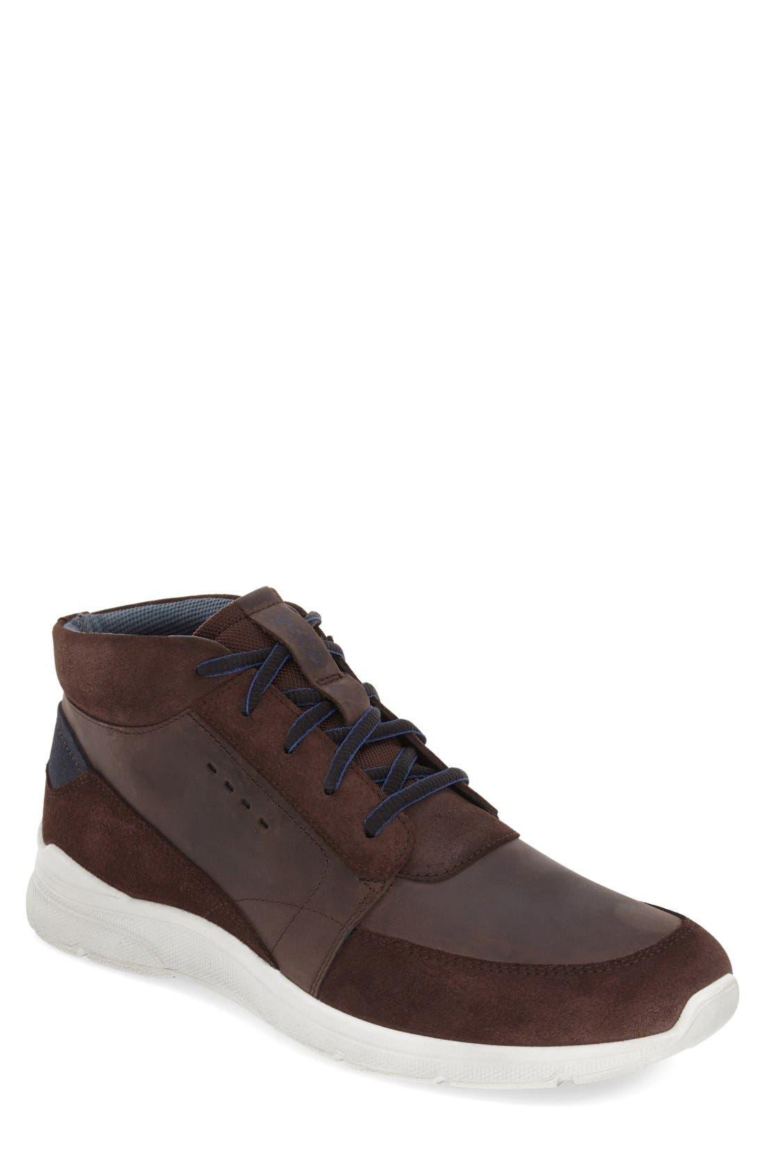 'Irondale Retro' High Top Sneaker,                         Main,                         color, 206