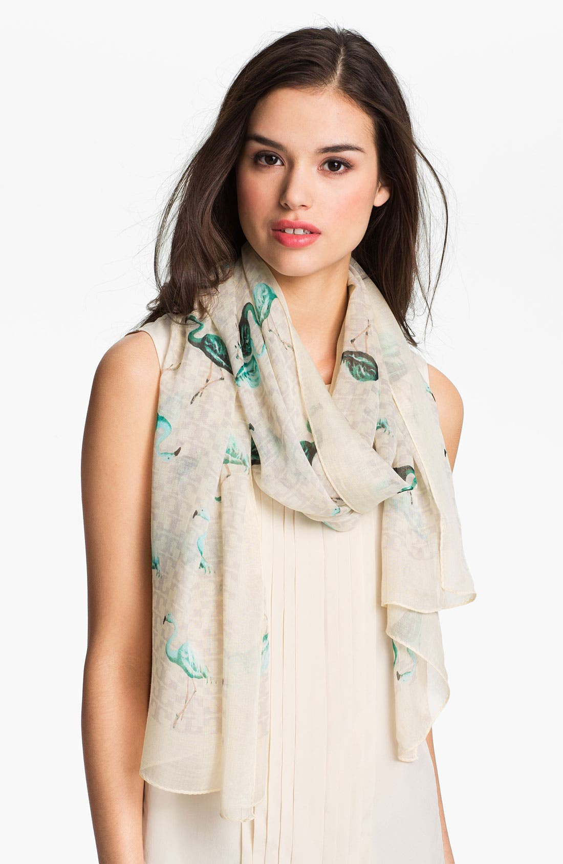 'Flamingo' Scarf,                         Main,                         color, 700
