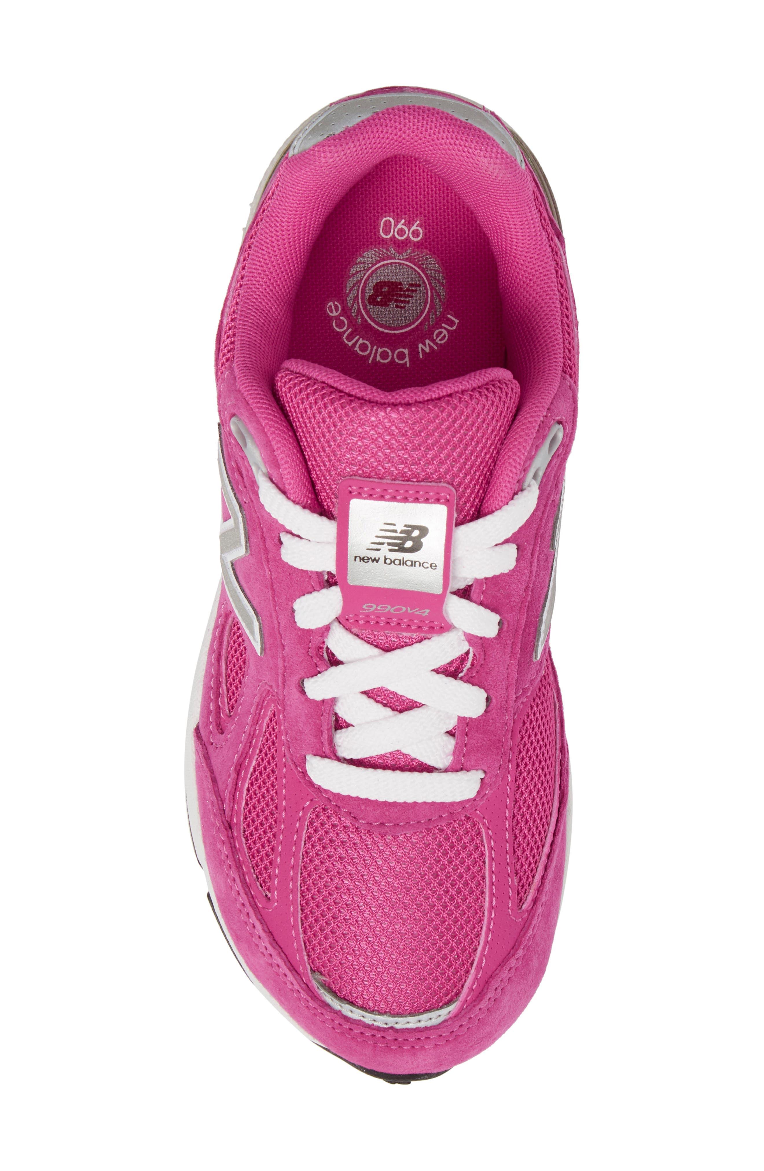 990v4 Sneaker,                             Alternate thumbnail 5, color,                             660
