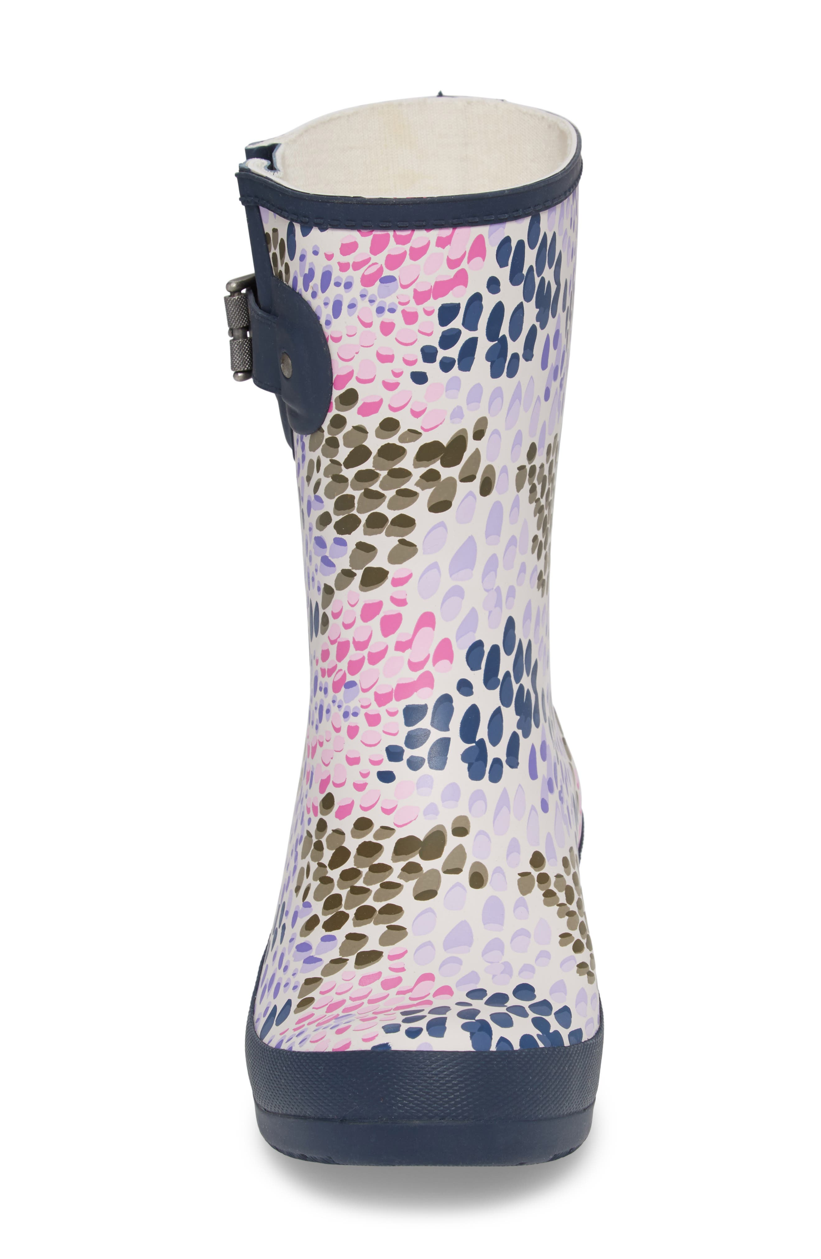 Tillie Mid Rain Boot,                             Alternate thumbnail 4, color,                             NAVY