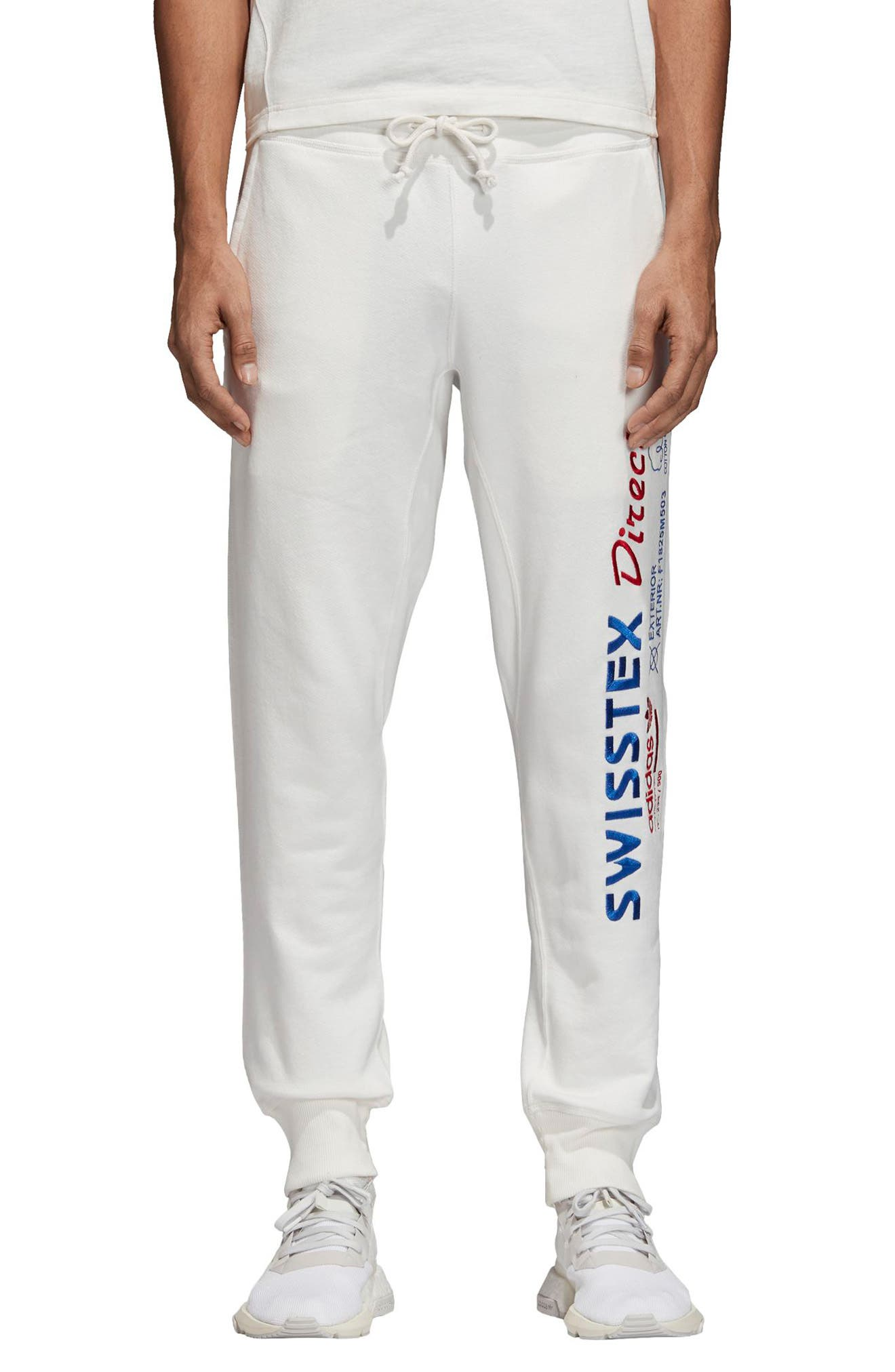 ADIDAS ORIGINALS Kaval Sweatpants, Main, color, 100