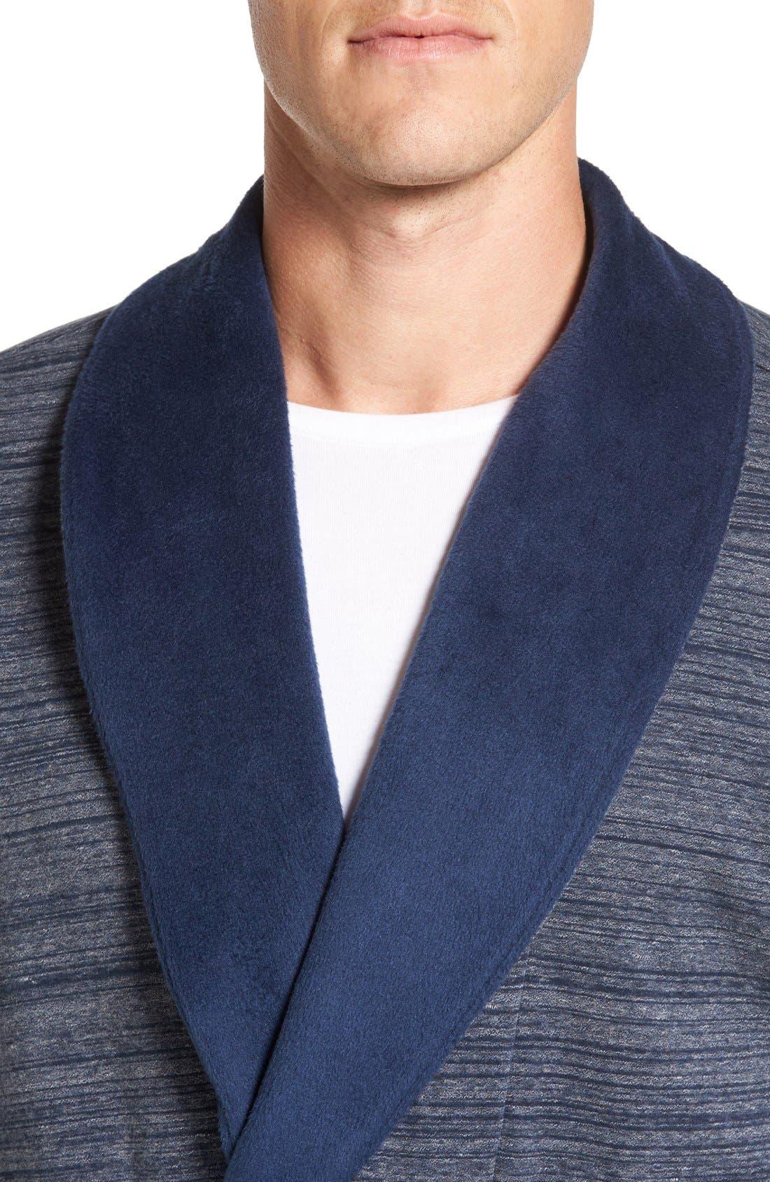 'Robinson' Stretch Cotton Robe,                             Alternate thumbnail 8, color,