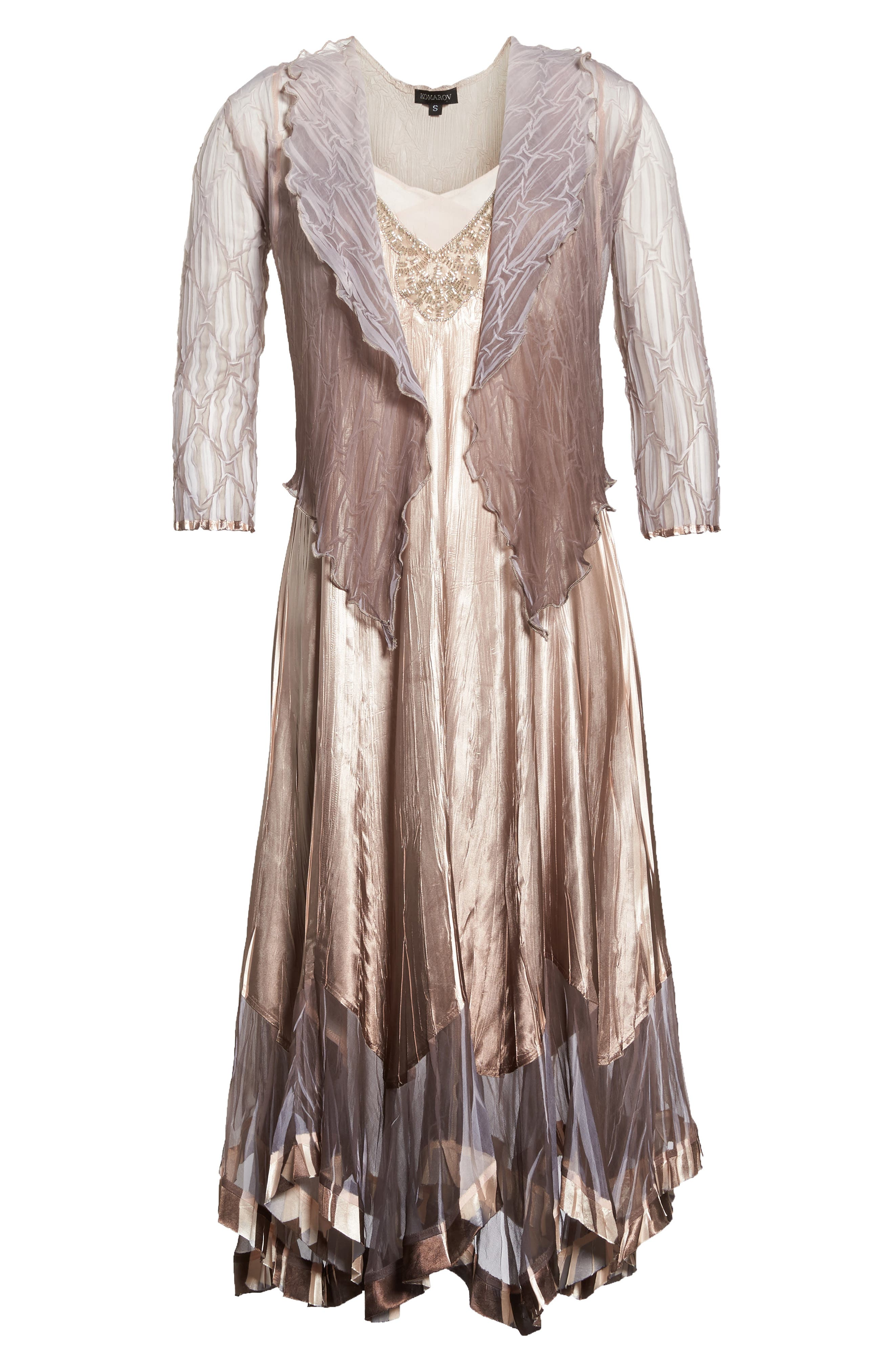 Dress with Jacket,                             Alternate thumbnail 6, color,                             253