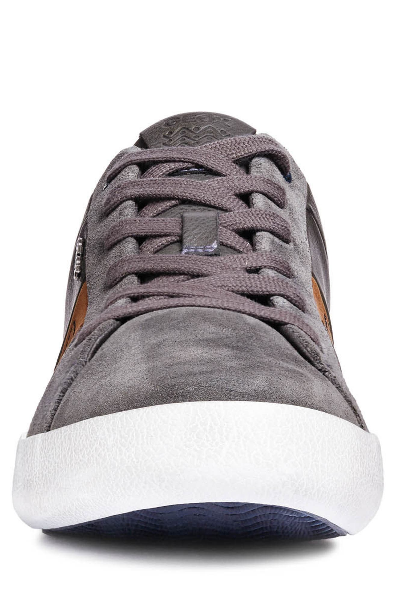 Box 40 Low Top Sneaker,                             Alternate thumbnail 4, color,                             ANTHRACITE LEATHER