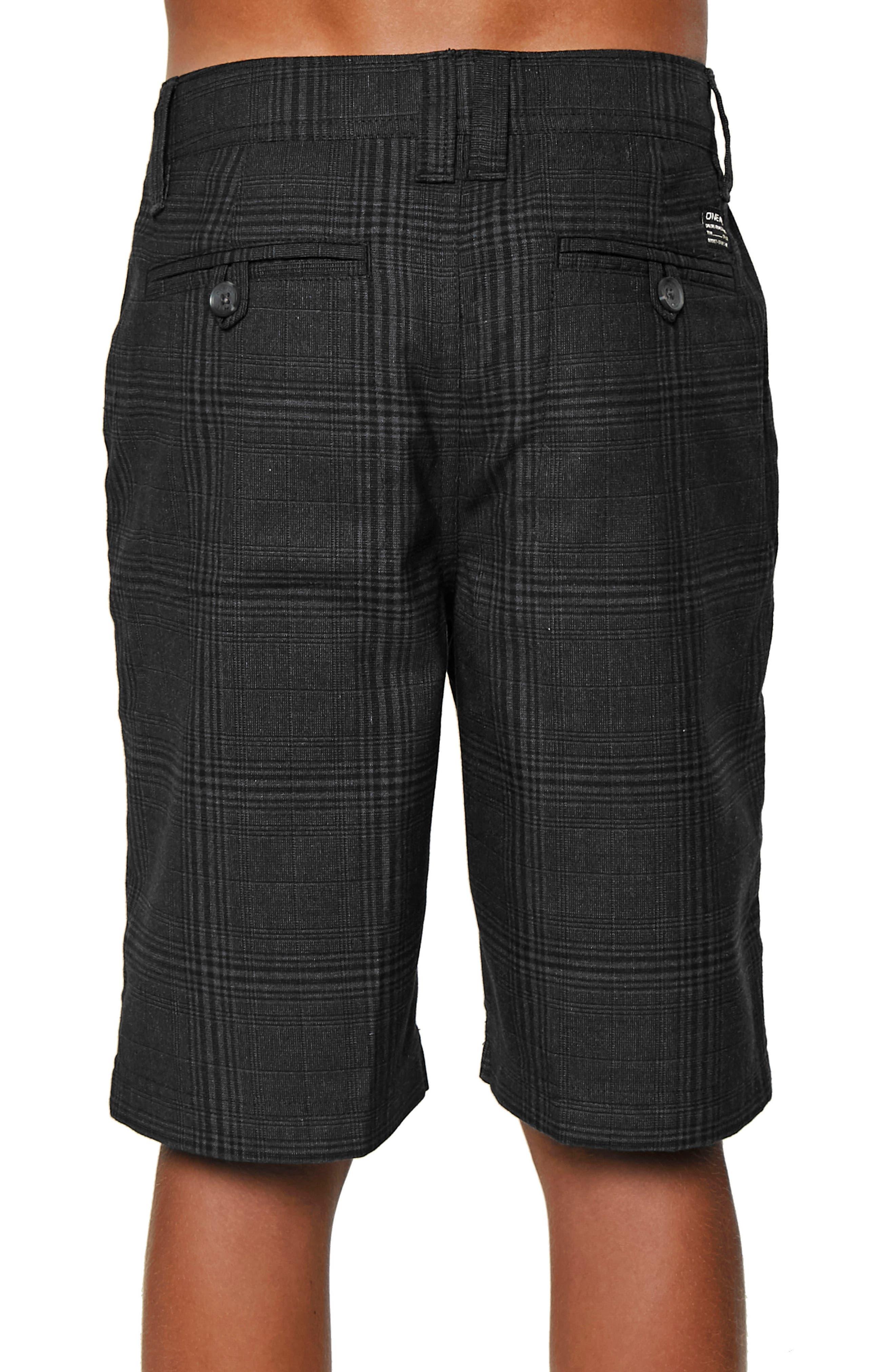 Bristol Plaid Shorts,                             Alternate thumbnail 3, color,                             001