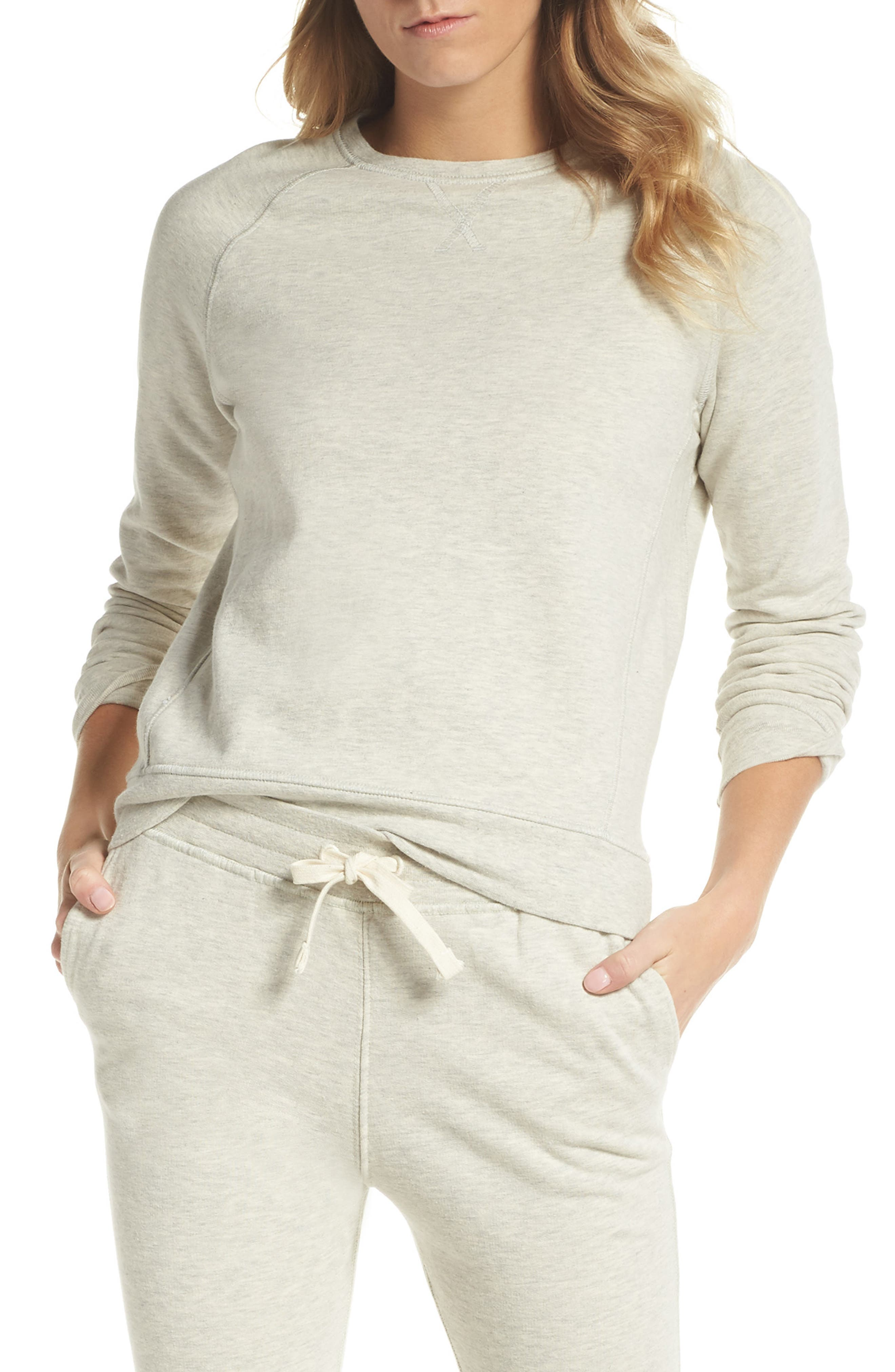 Crew Sweatshirt,                         Main,                         color, 266