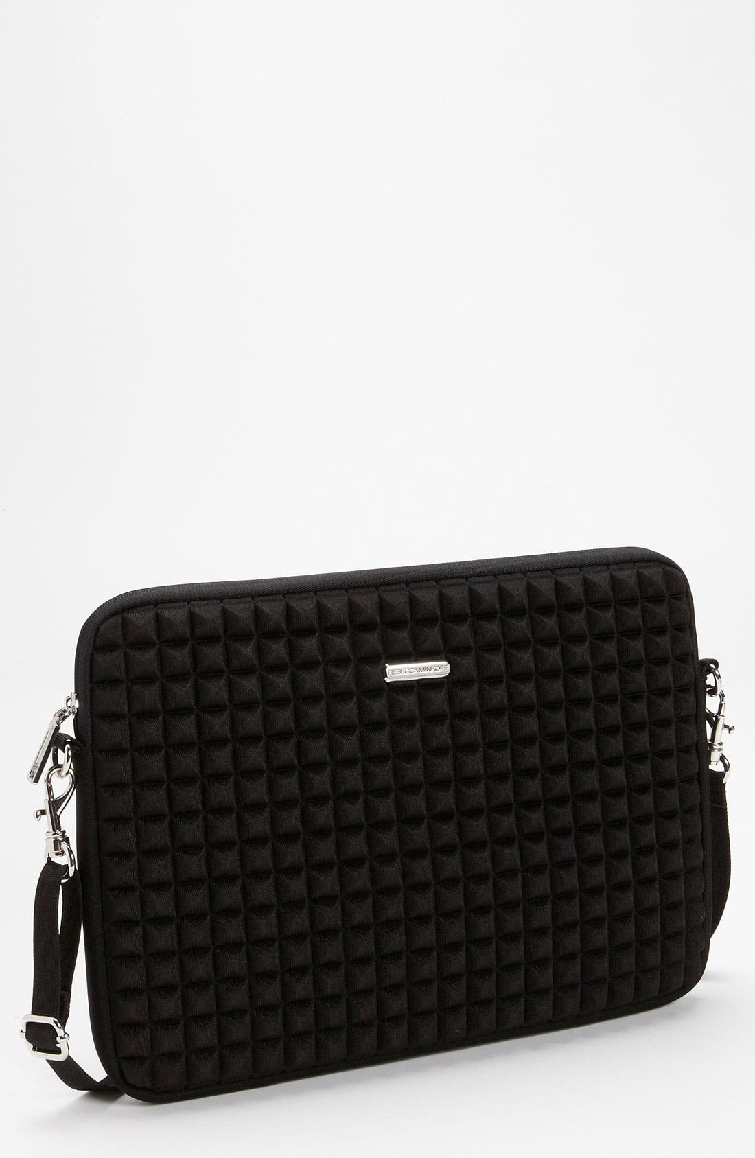 'Pyramid Stud' Laptop Case,                         Main,                         color, 001