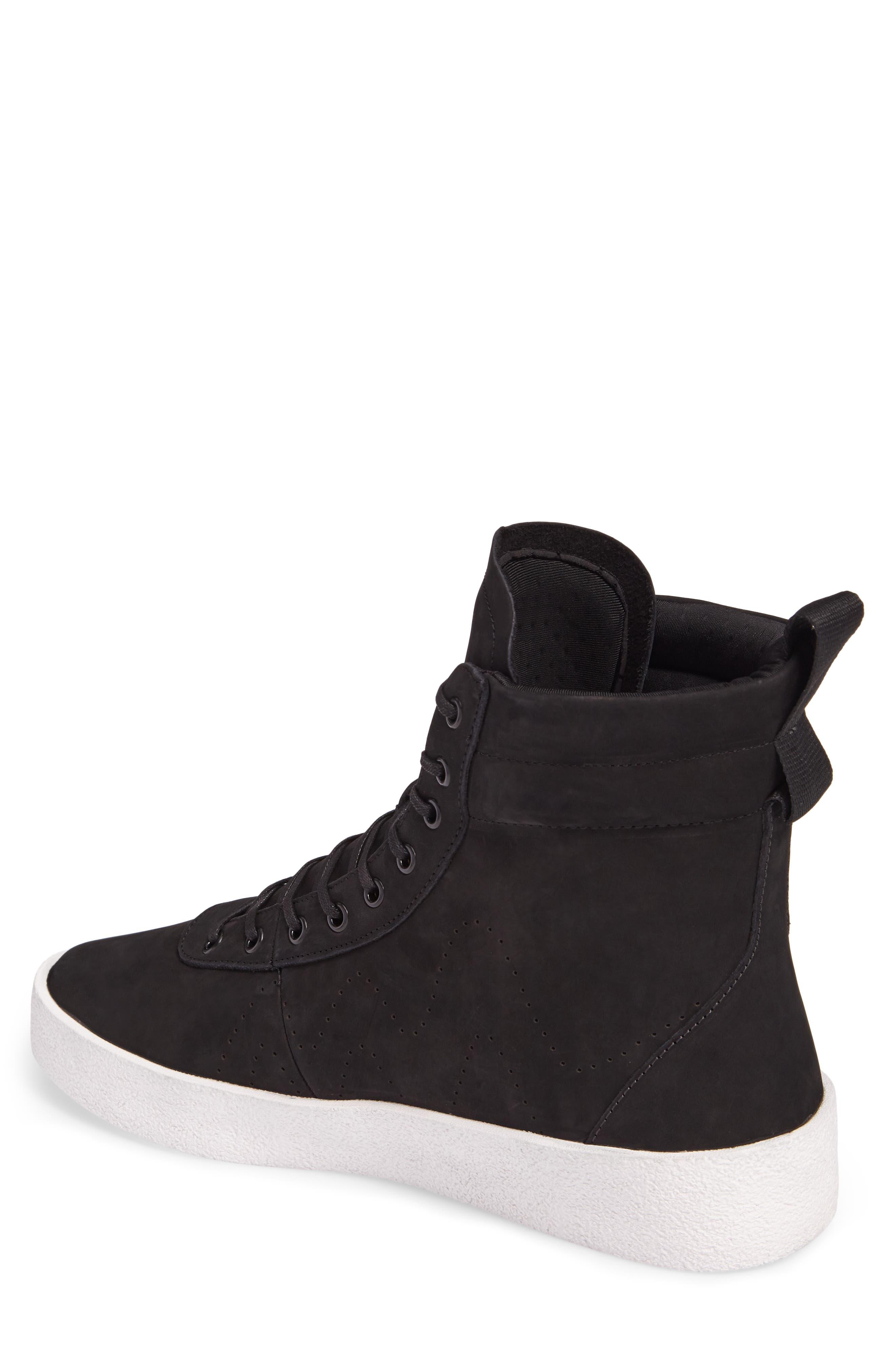 Highlander High Top Sneaker,                             Alternate thumbnail 2, color,                             001