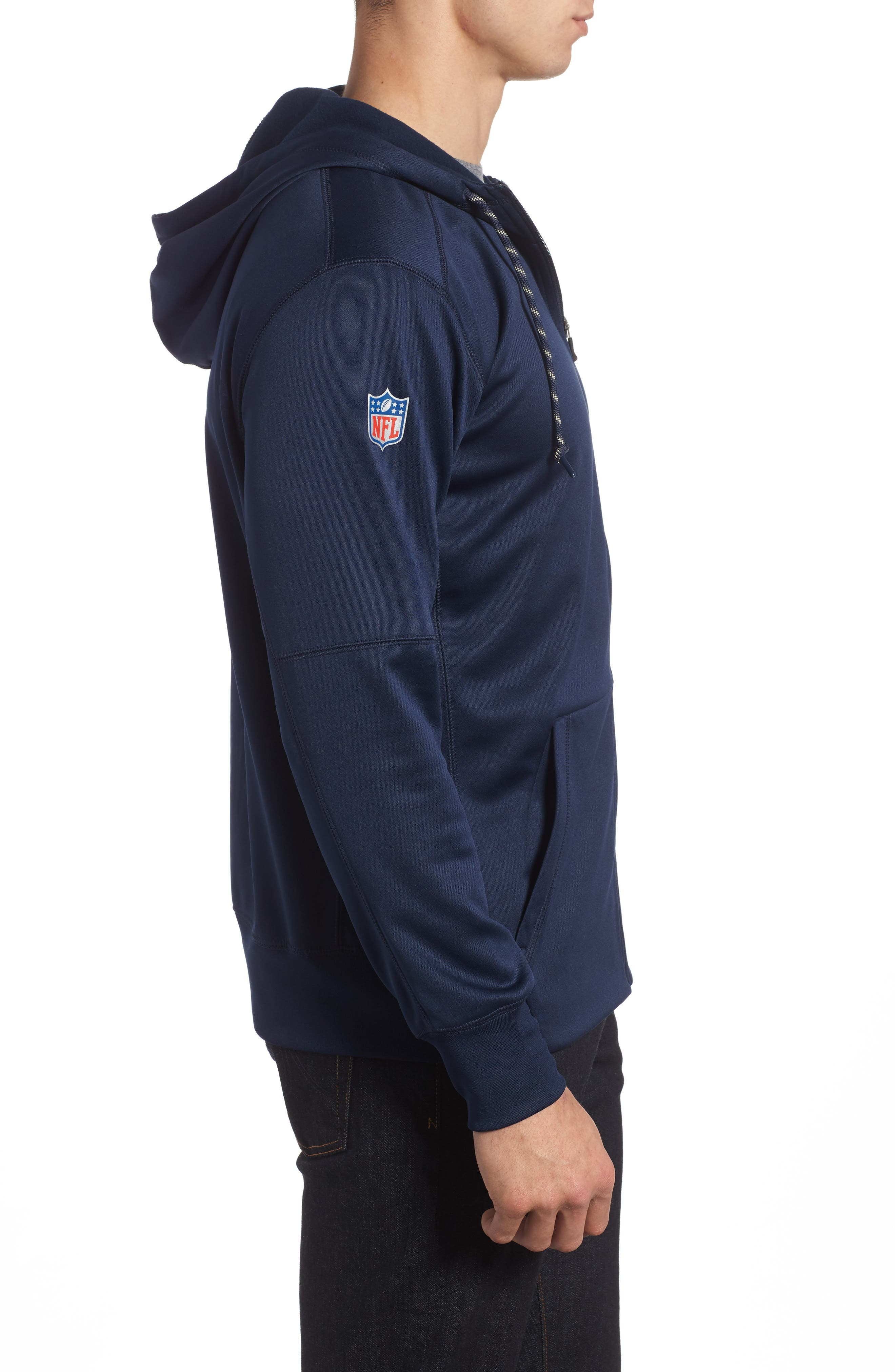 Therma-FIT NFL Graphic Zip Hoodie,                             Alternate thumbnail 19, color,