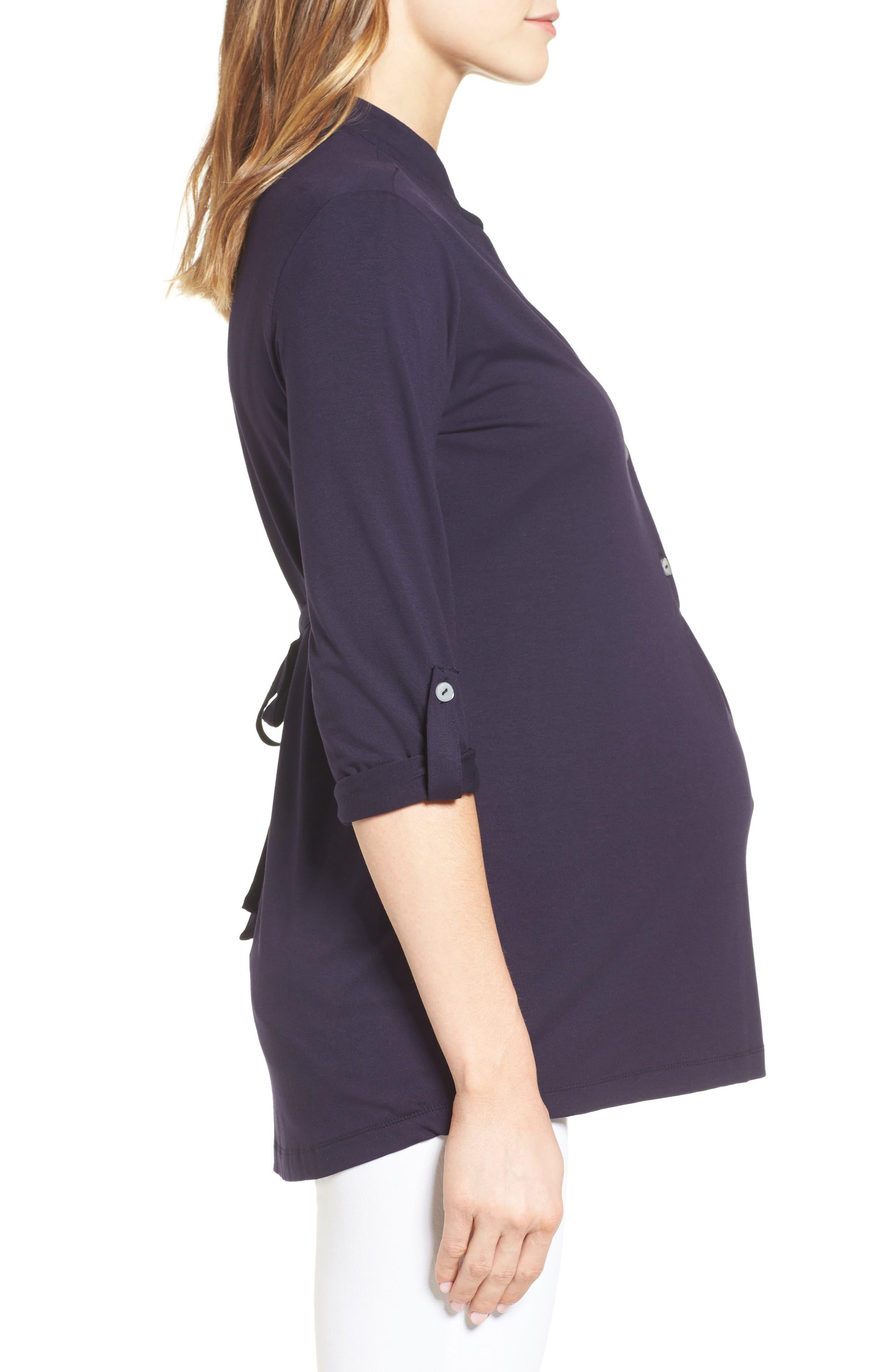 Lawson Maternity/Nursing Top,                             Alternate thumbnail 3, color,                             411