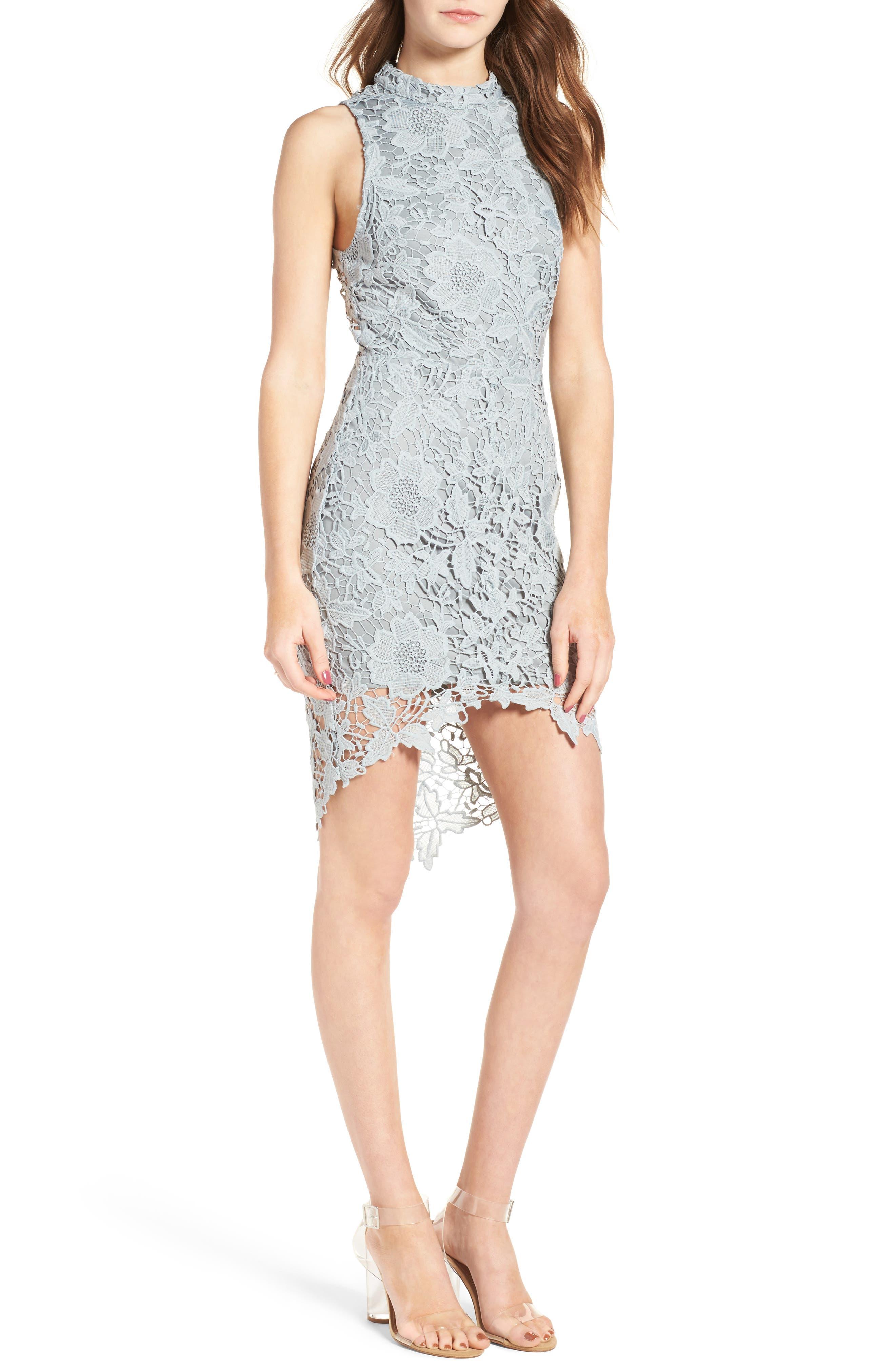 'Samantha' Lace Dress,                             Main thumbnail 5, color,