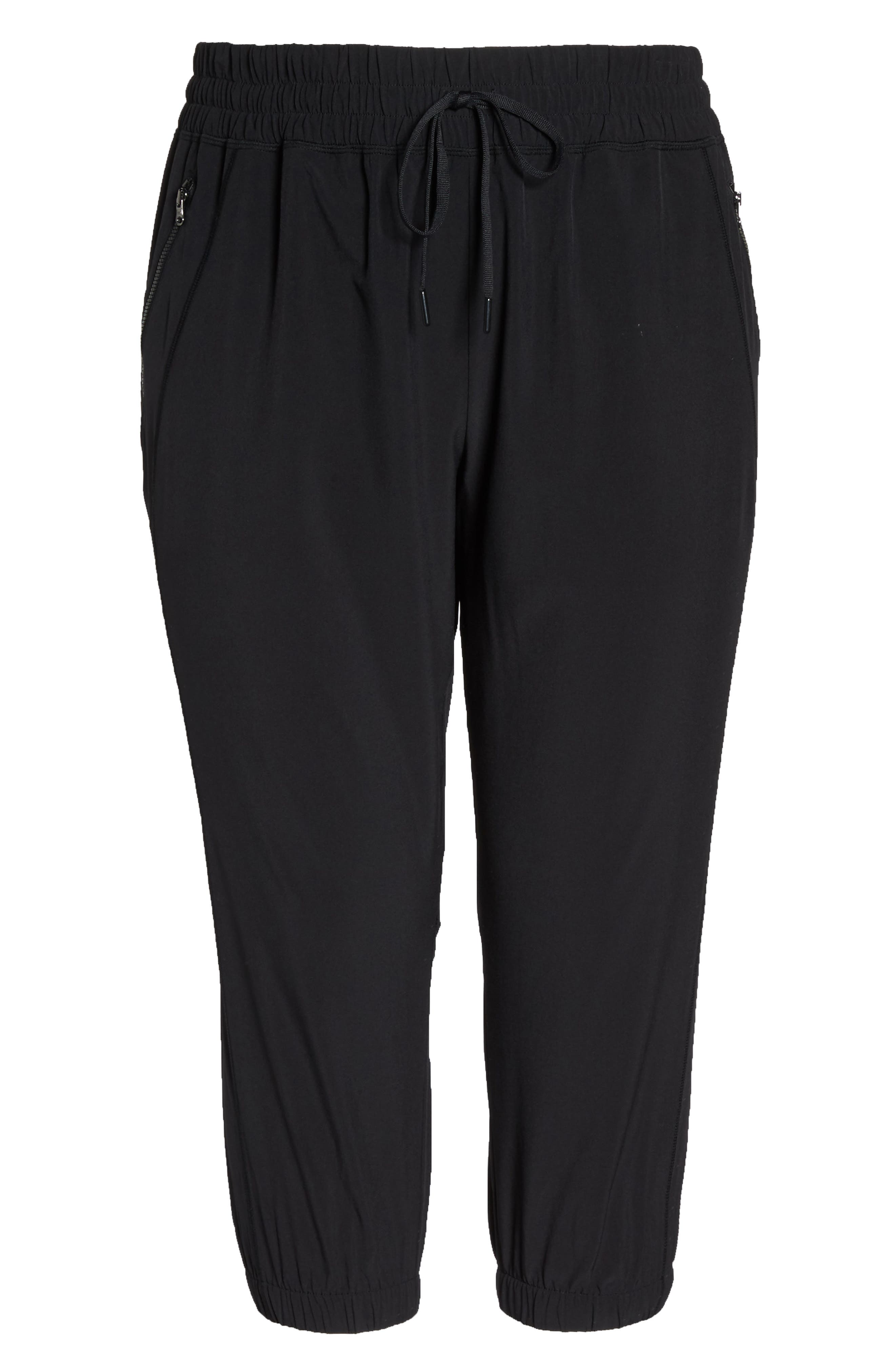 Out & About 2 Crop Pants,                             Alternate thumbnail 7, color,                             BLACK